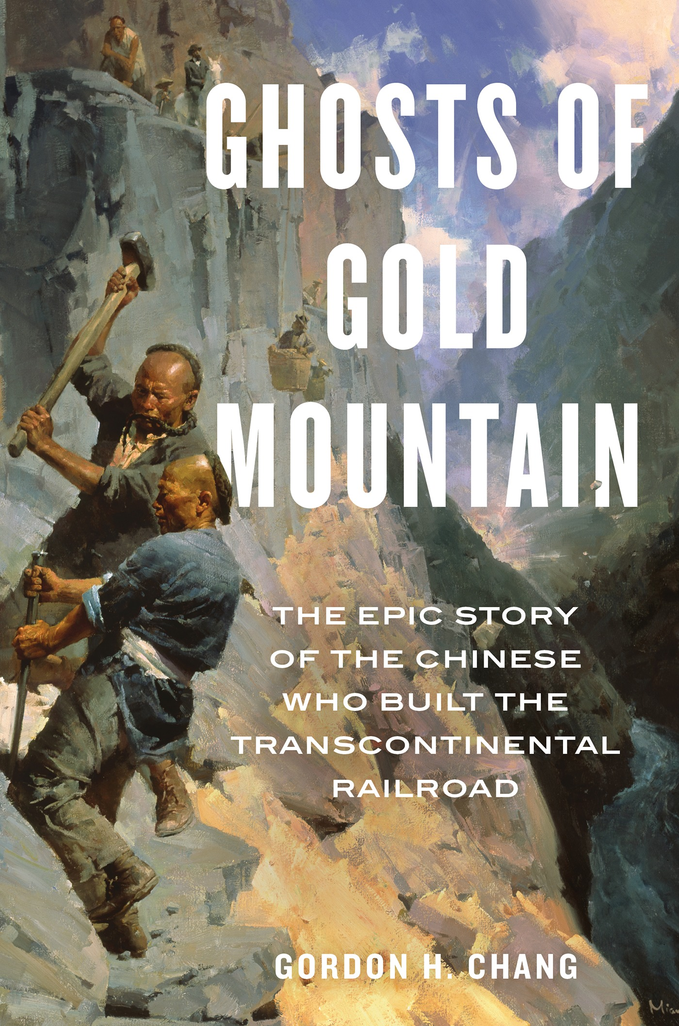 Ghosts of Gold Mountain-9781328618573