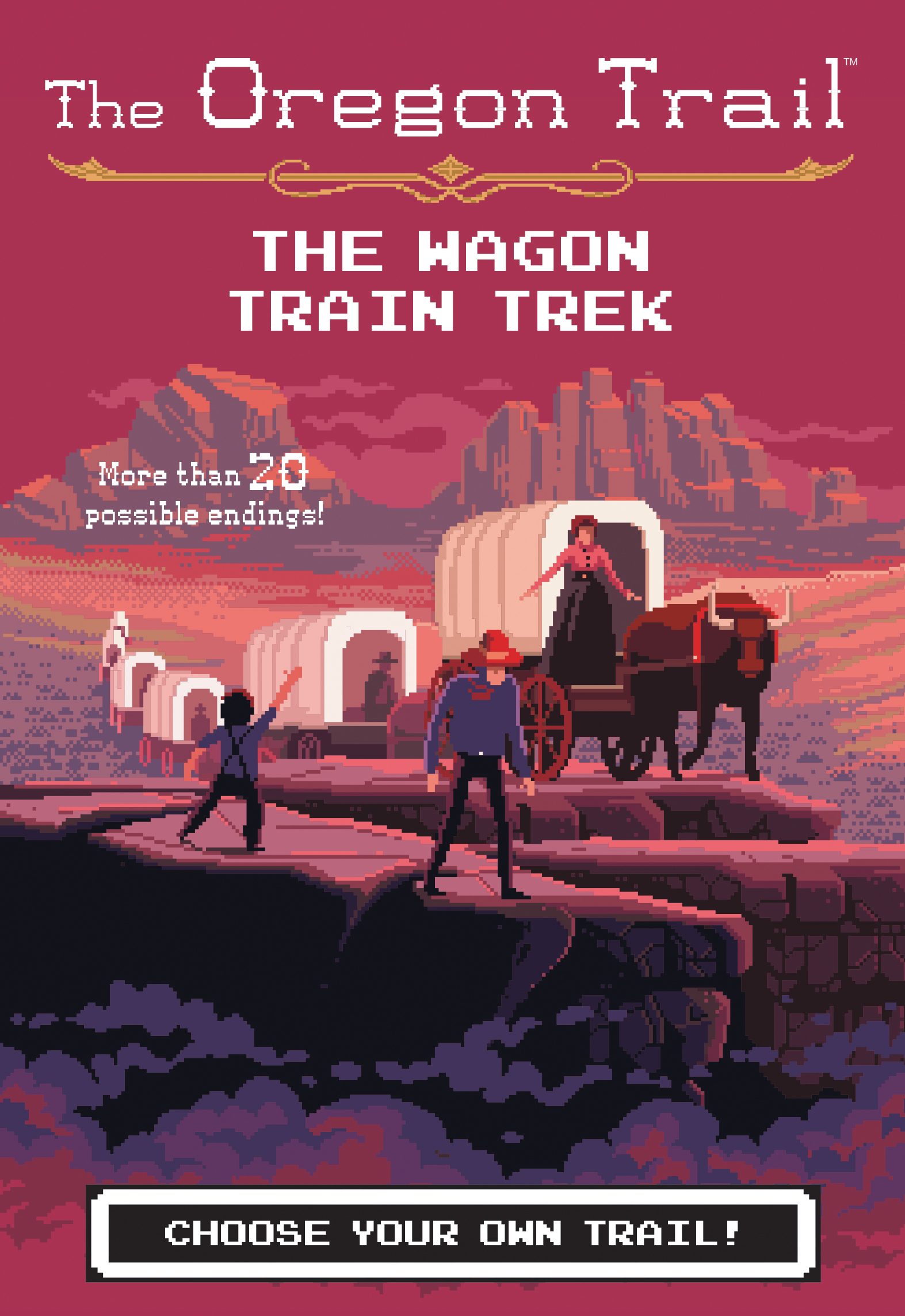 The Wagon Train Trek-9781328627155