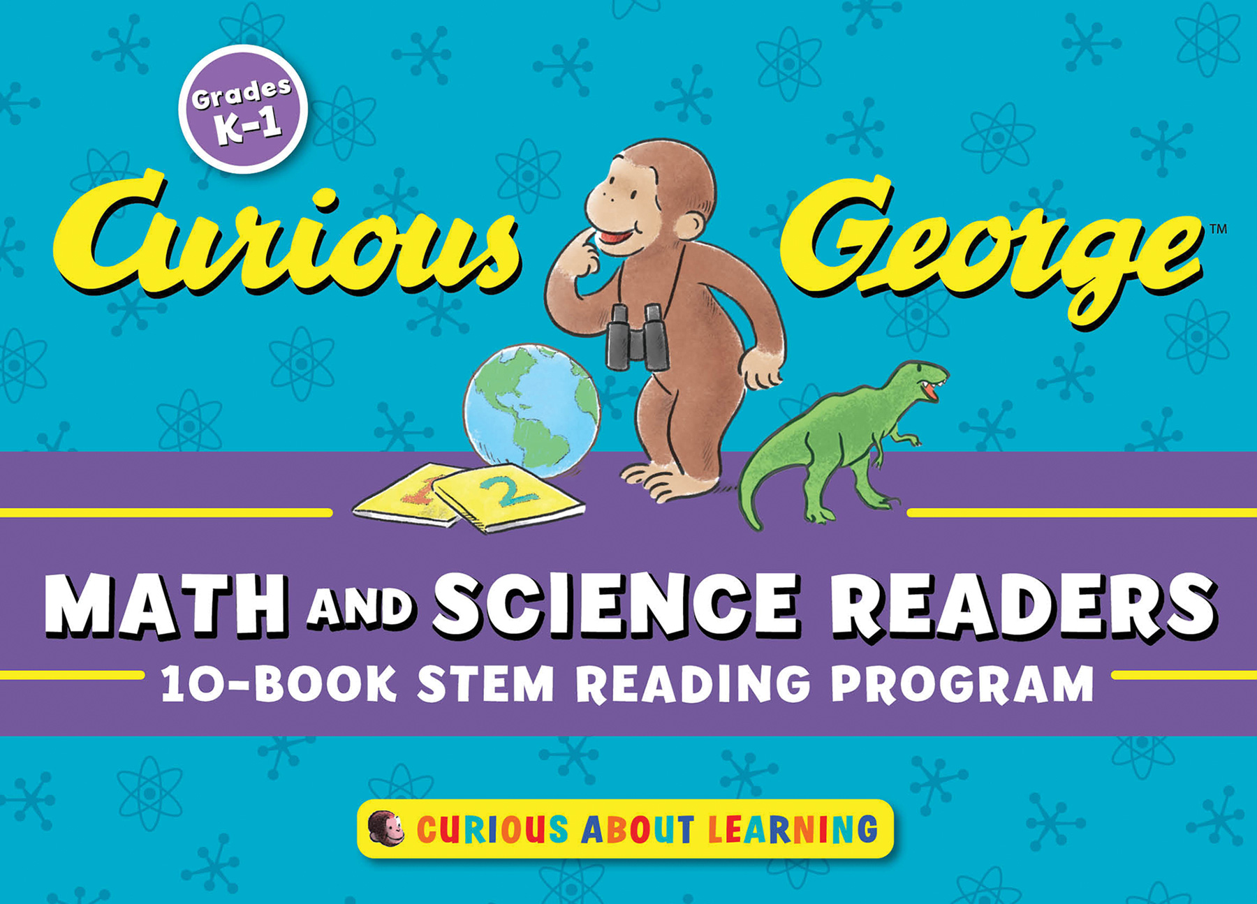 Curious George Math and Science Readers-9781328685971