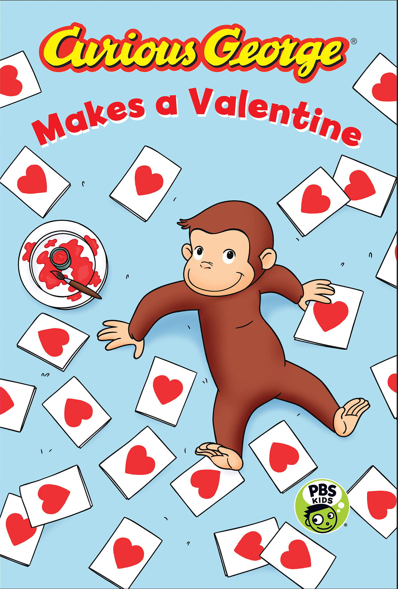 Curious George Makes a Valentine (CGTV Reader)-9781328695574