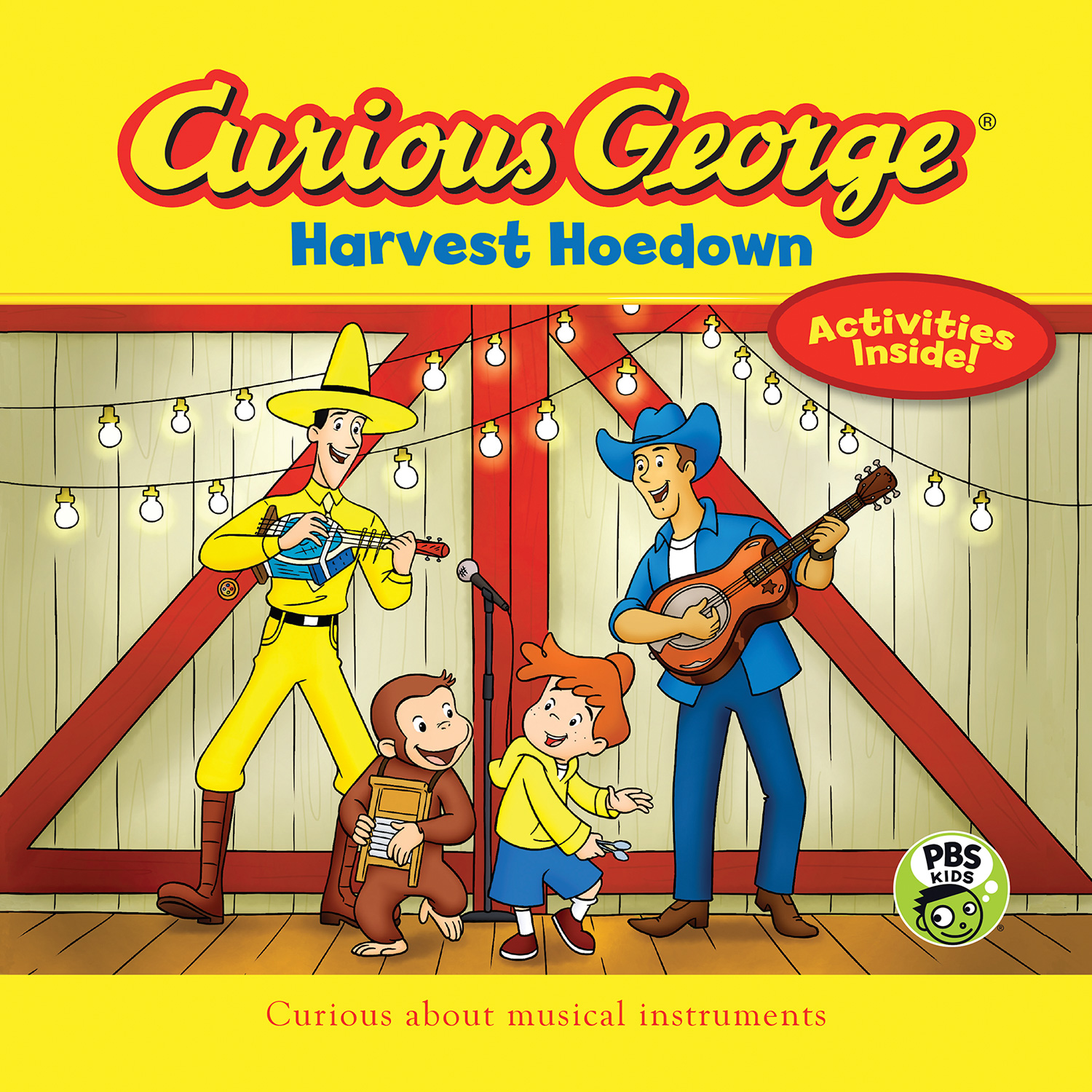 Curious George Harvest Hoedown (CGTV 8 x 8)-9781328695963