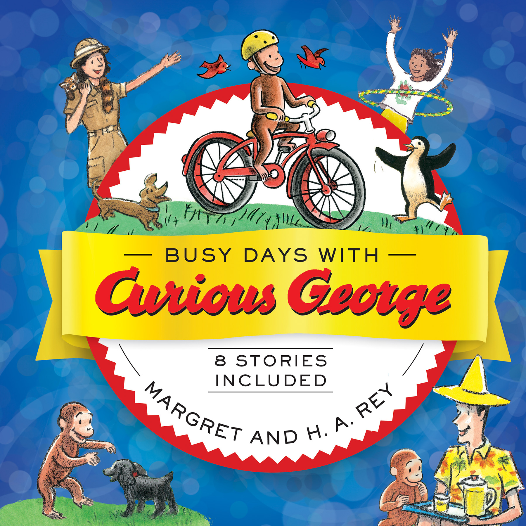 Busy Days with Curious George-9781328695987