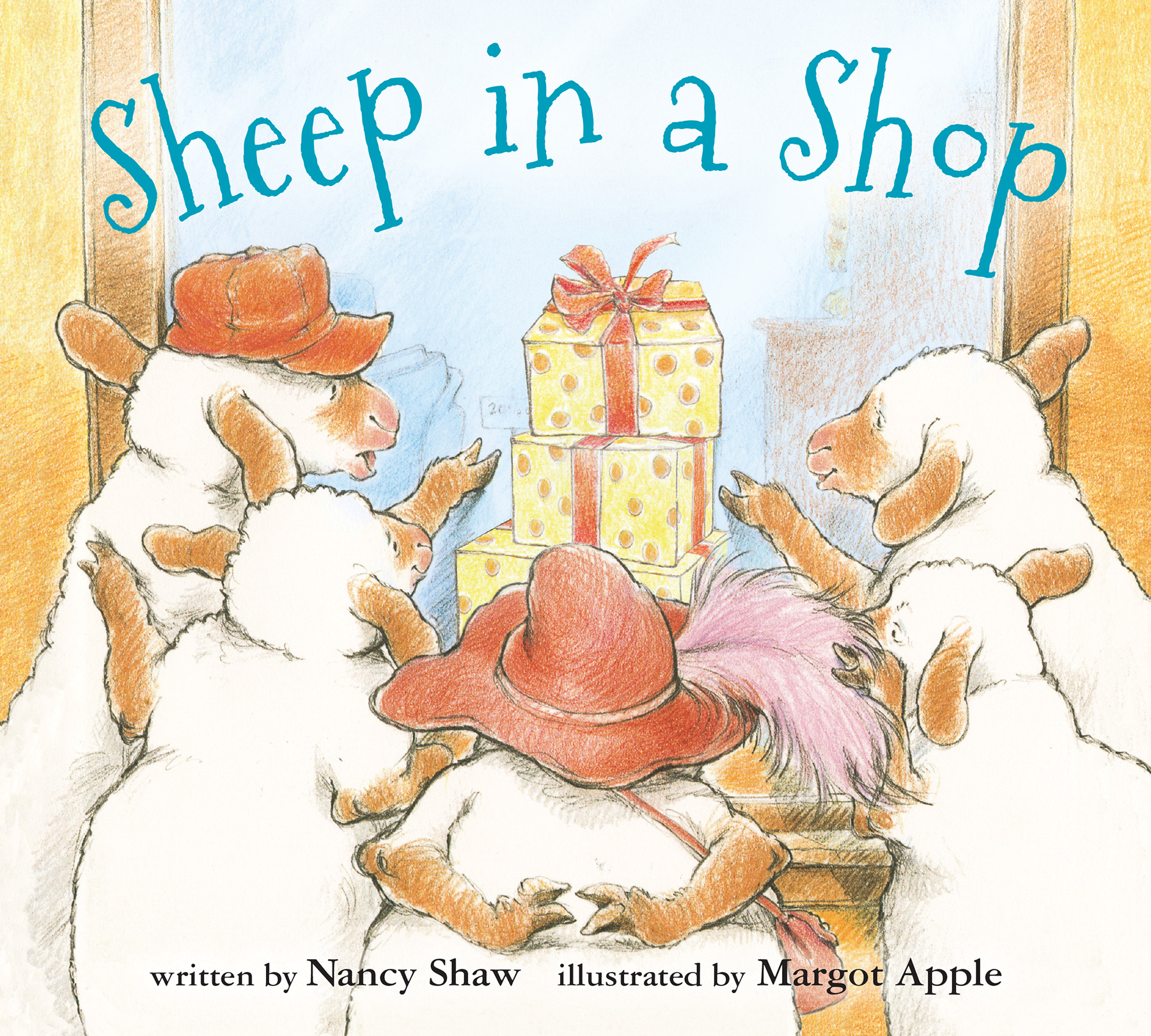Sheep in a Shop (board book)-9781328702869