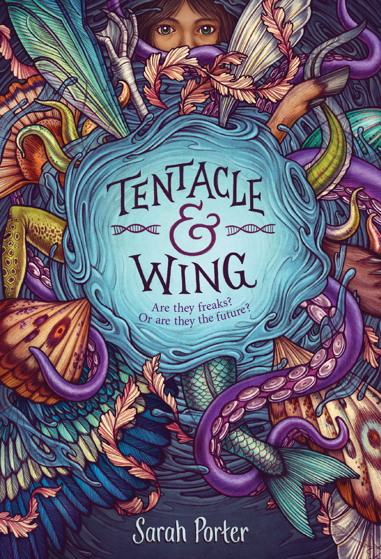Tentacle and Wing-9781328707338