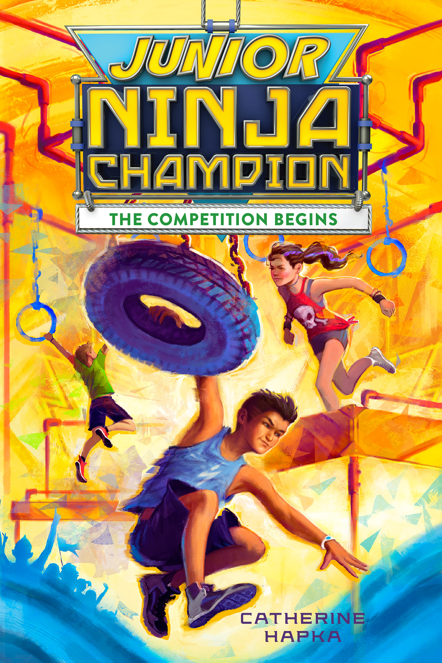Junior Ninja Champion-9781328710581