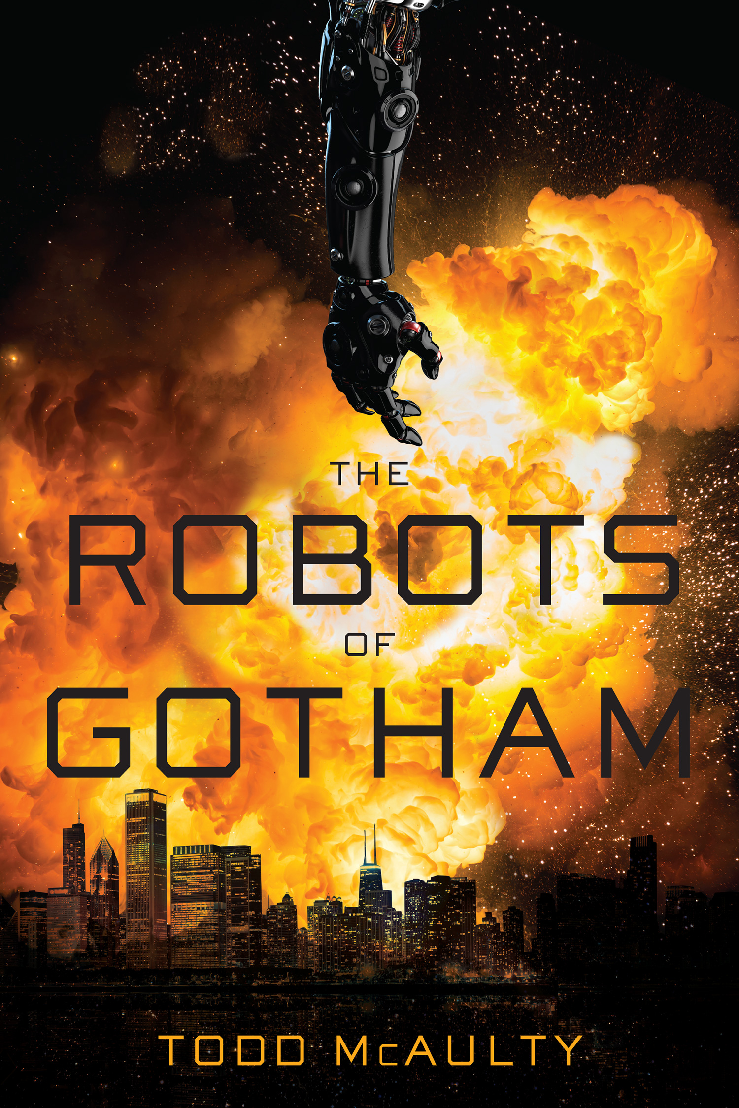 The Robots of Gotham-9781328711014