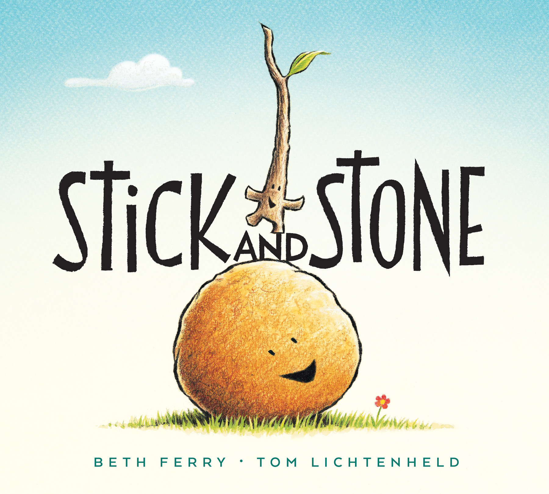 Stick and Stone (board book)-9781328714329
