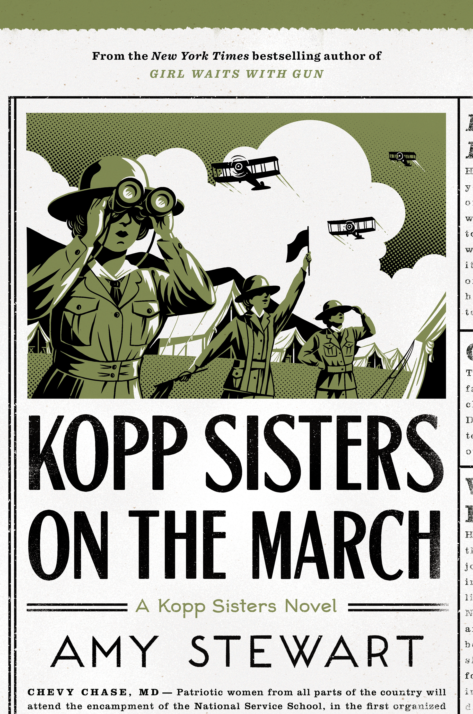 Kopp Sisters on the March-9781328736529