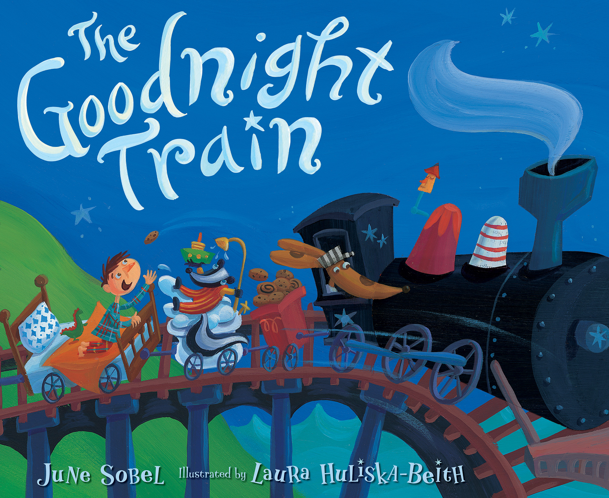 The Goodnight Train-9781328740021