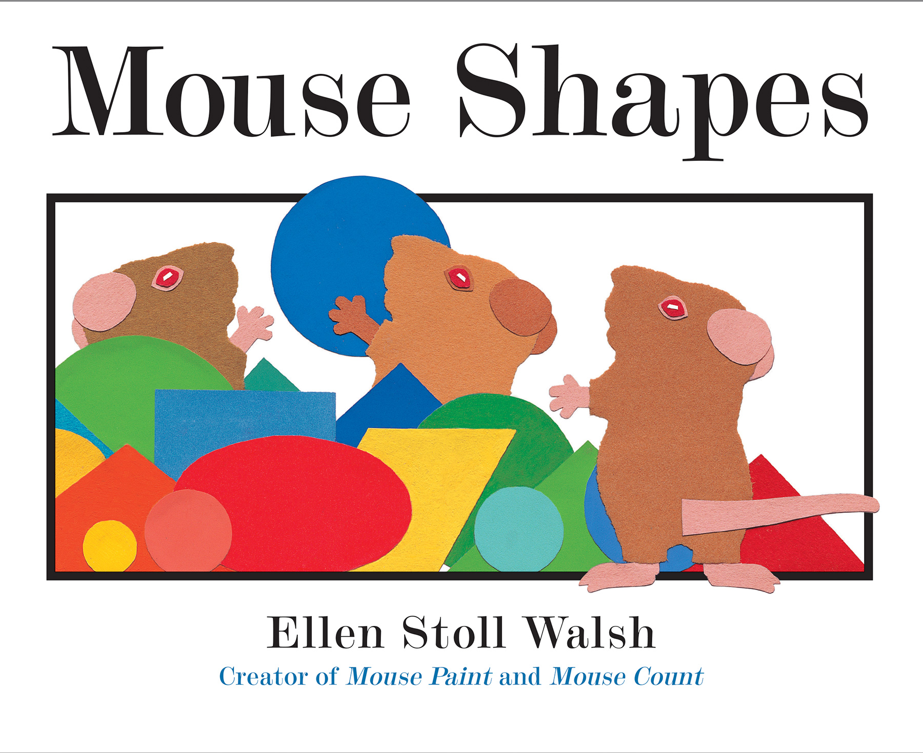 Mouse Shapes-9781328740533