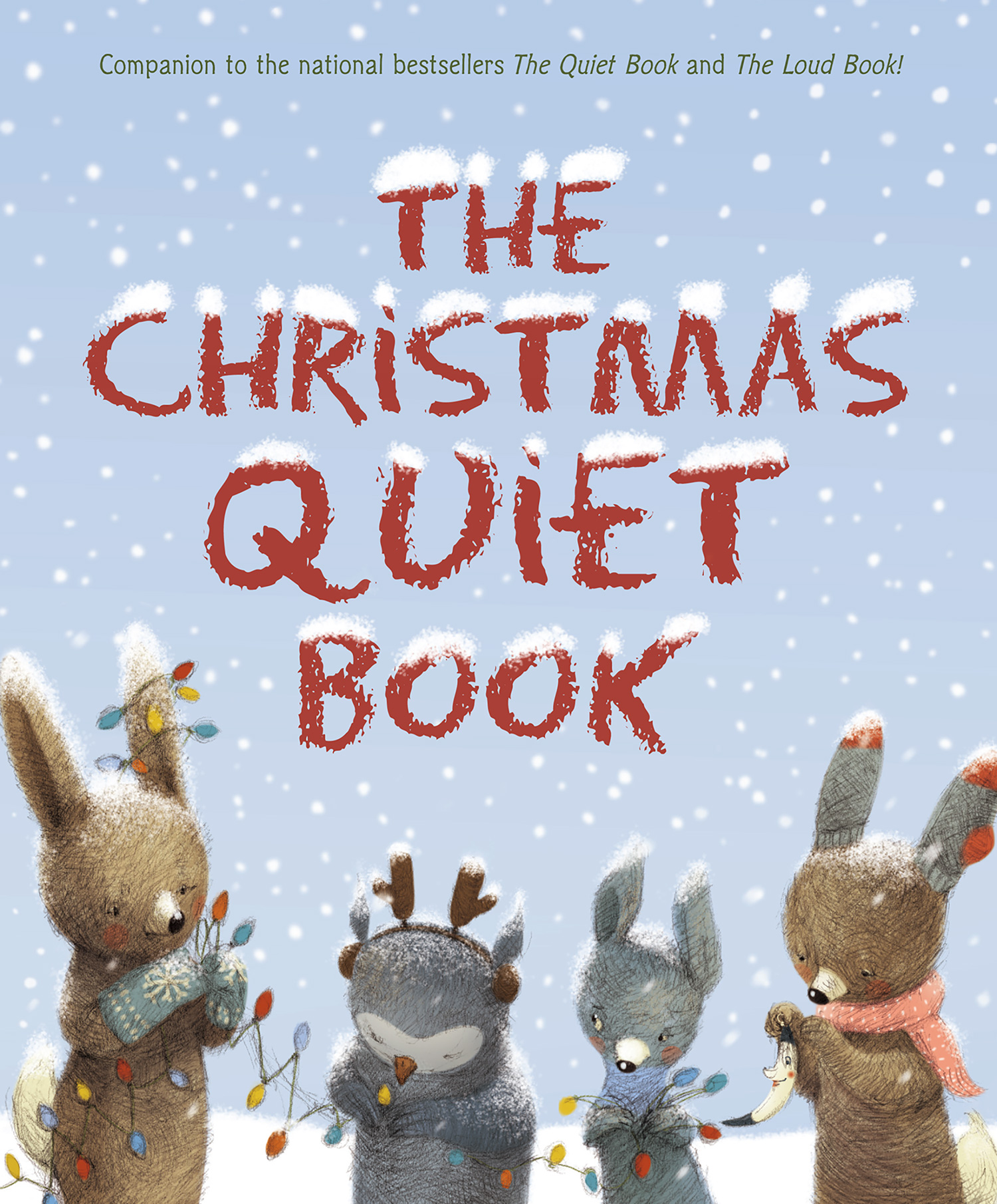 The Christmas Quiet Book-9781328740564