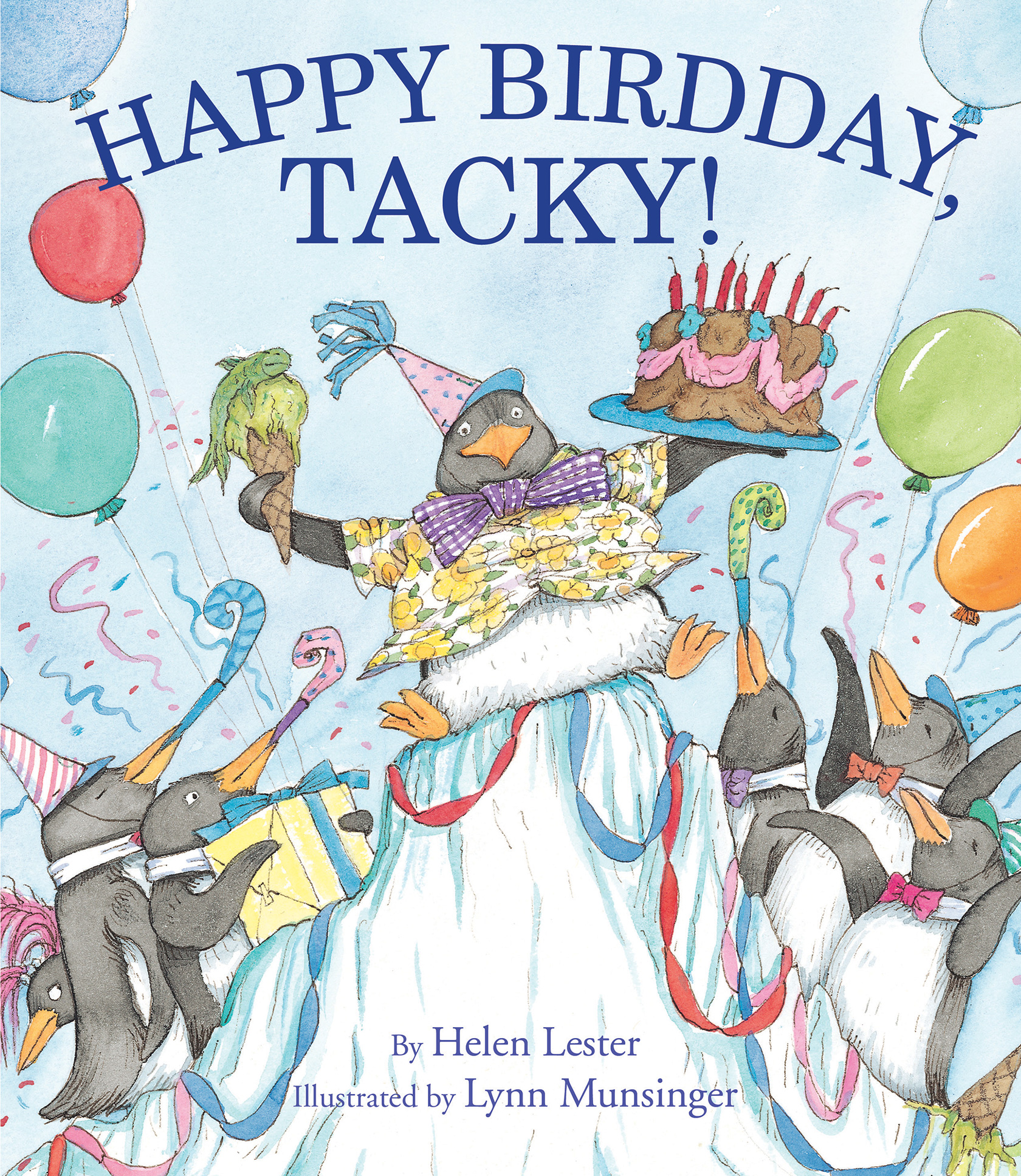 Happy Birdday, Tacky!-9781328740571