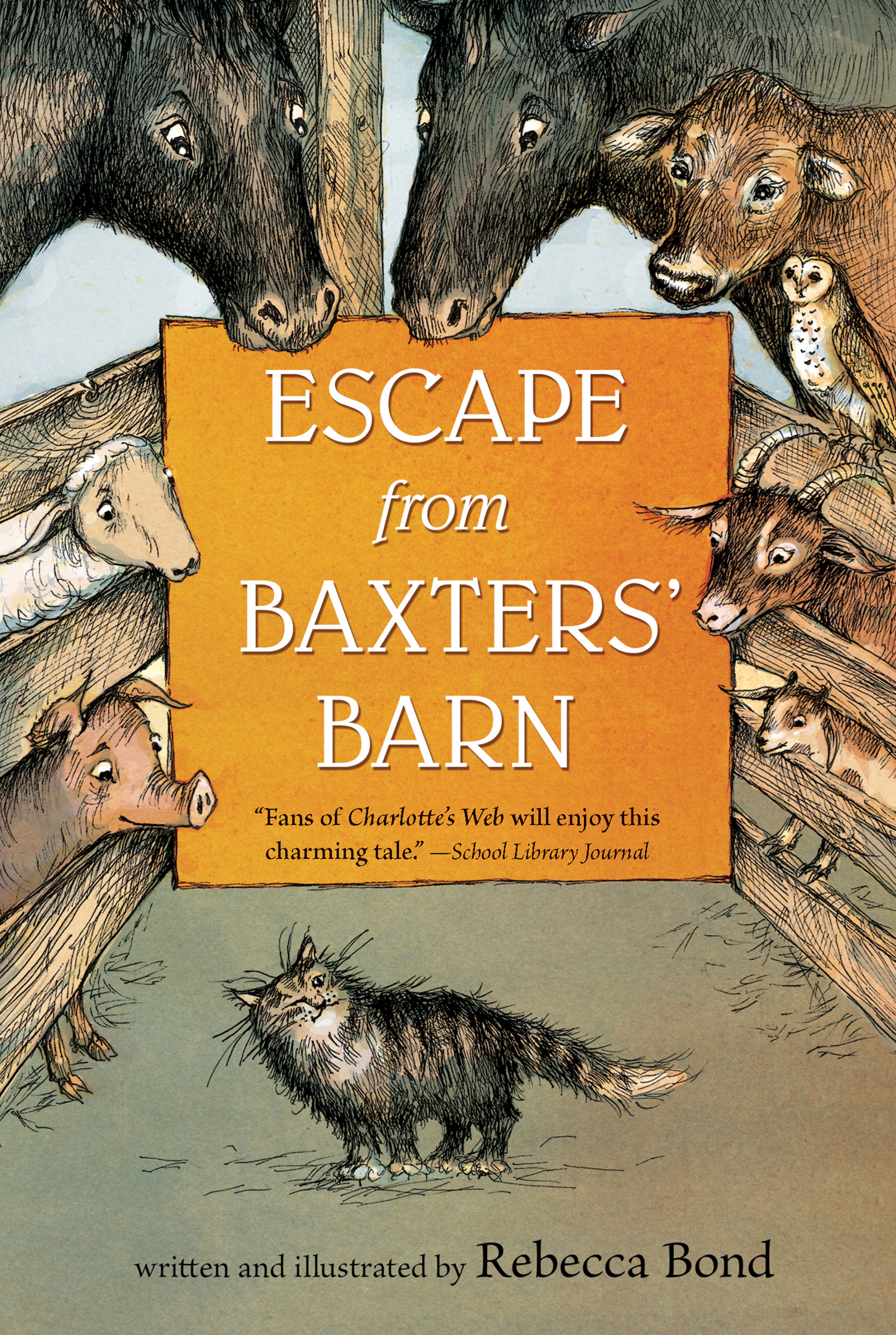 Escape from Baxters' Barn-9781328740939