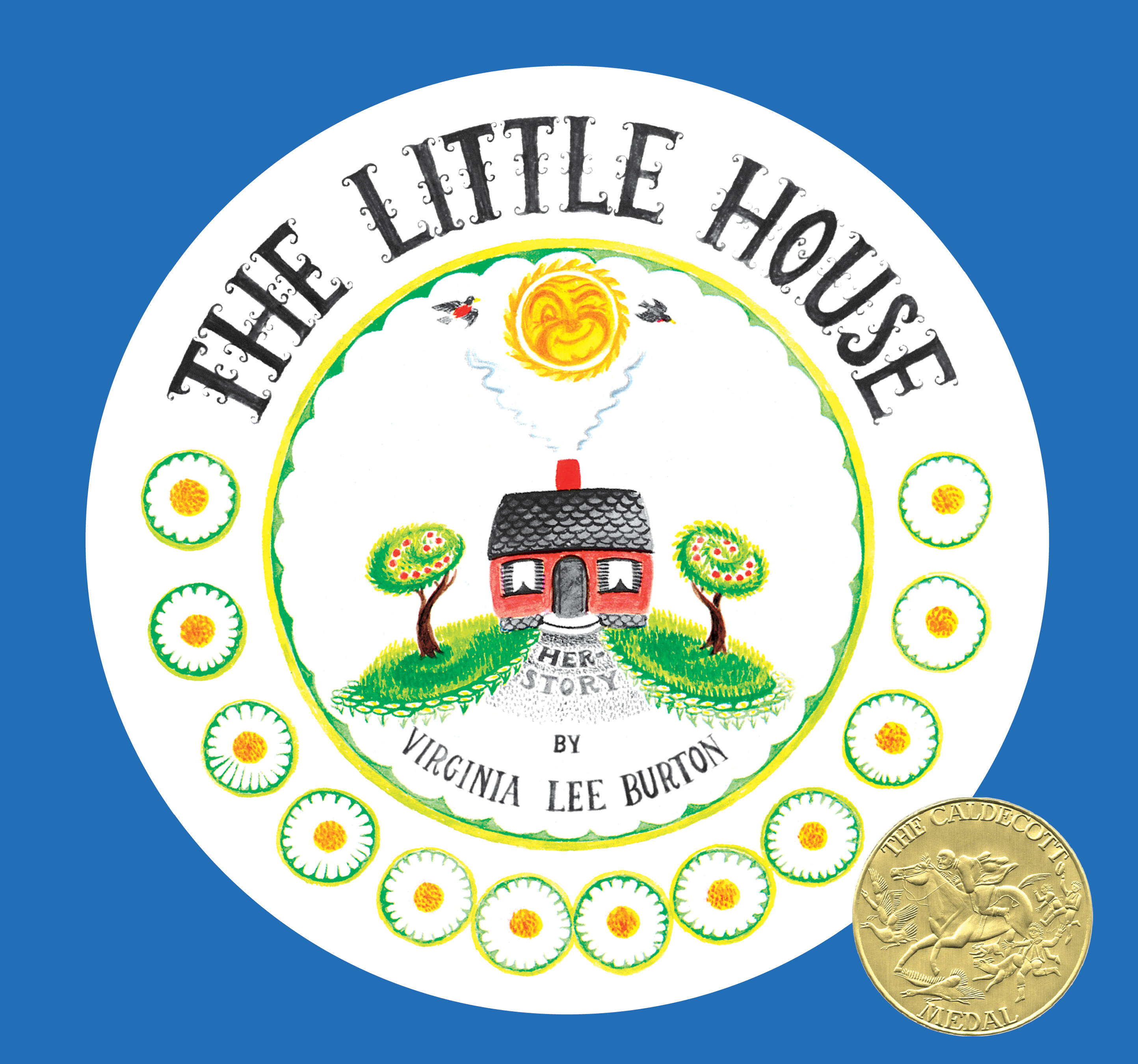The Little House 75th Anniversary Edition-9781328741943
