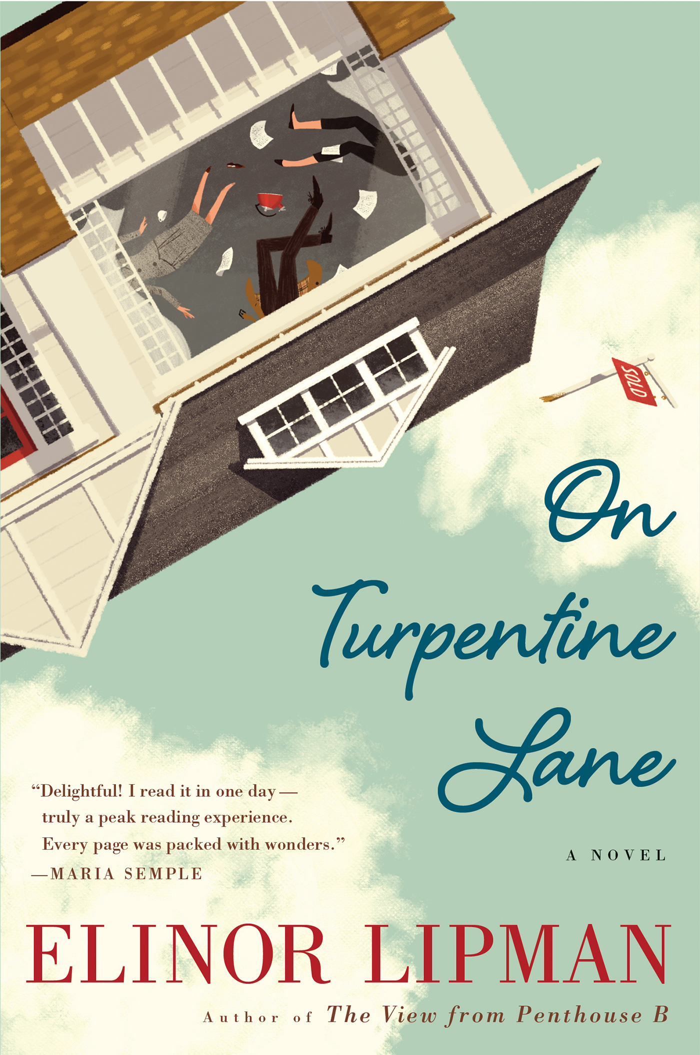 On Turpentine Lane-9781328745583