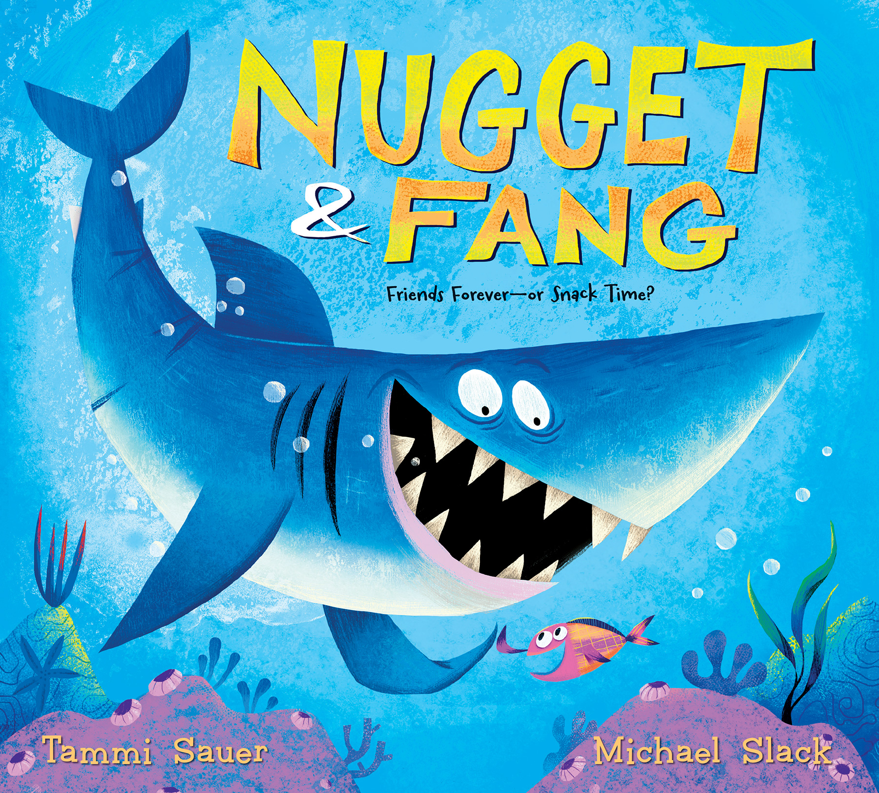 Nugget and Fang (lap board book)-9781328768391