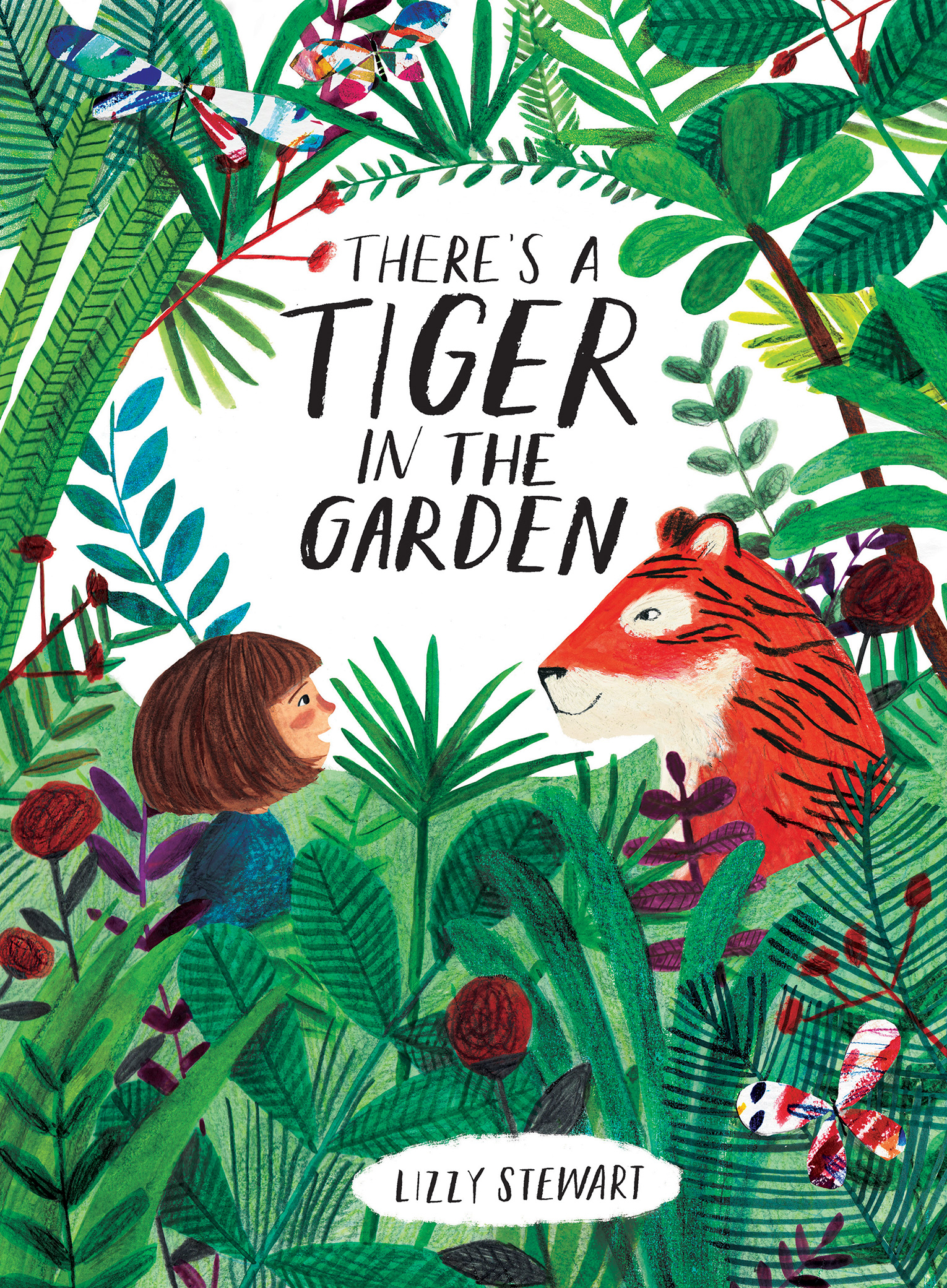 There's a Tiger in the Garden-9781328791832
