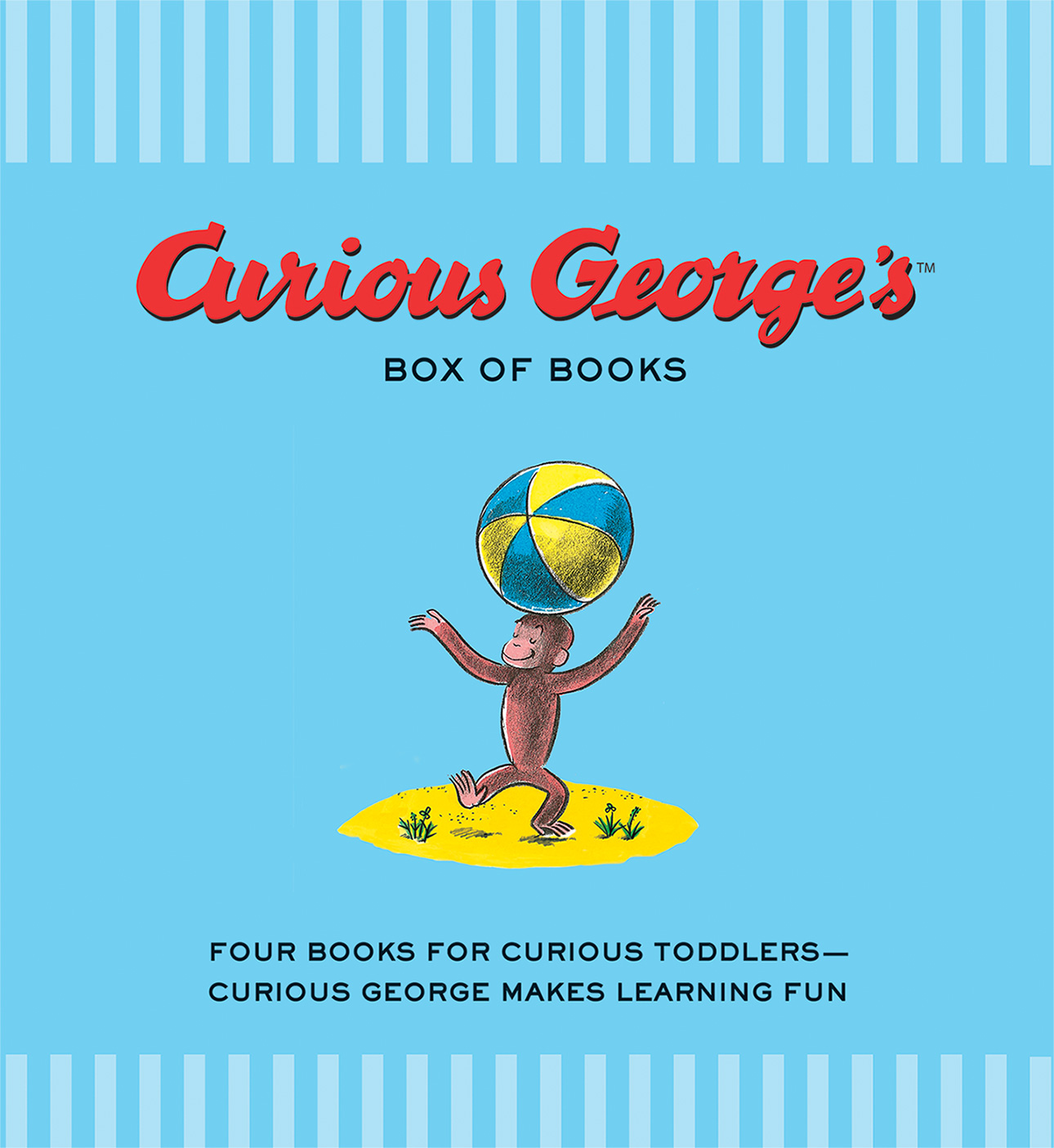 Curious George's Box of Books-9781328798954