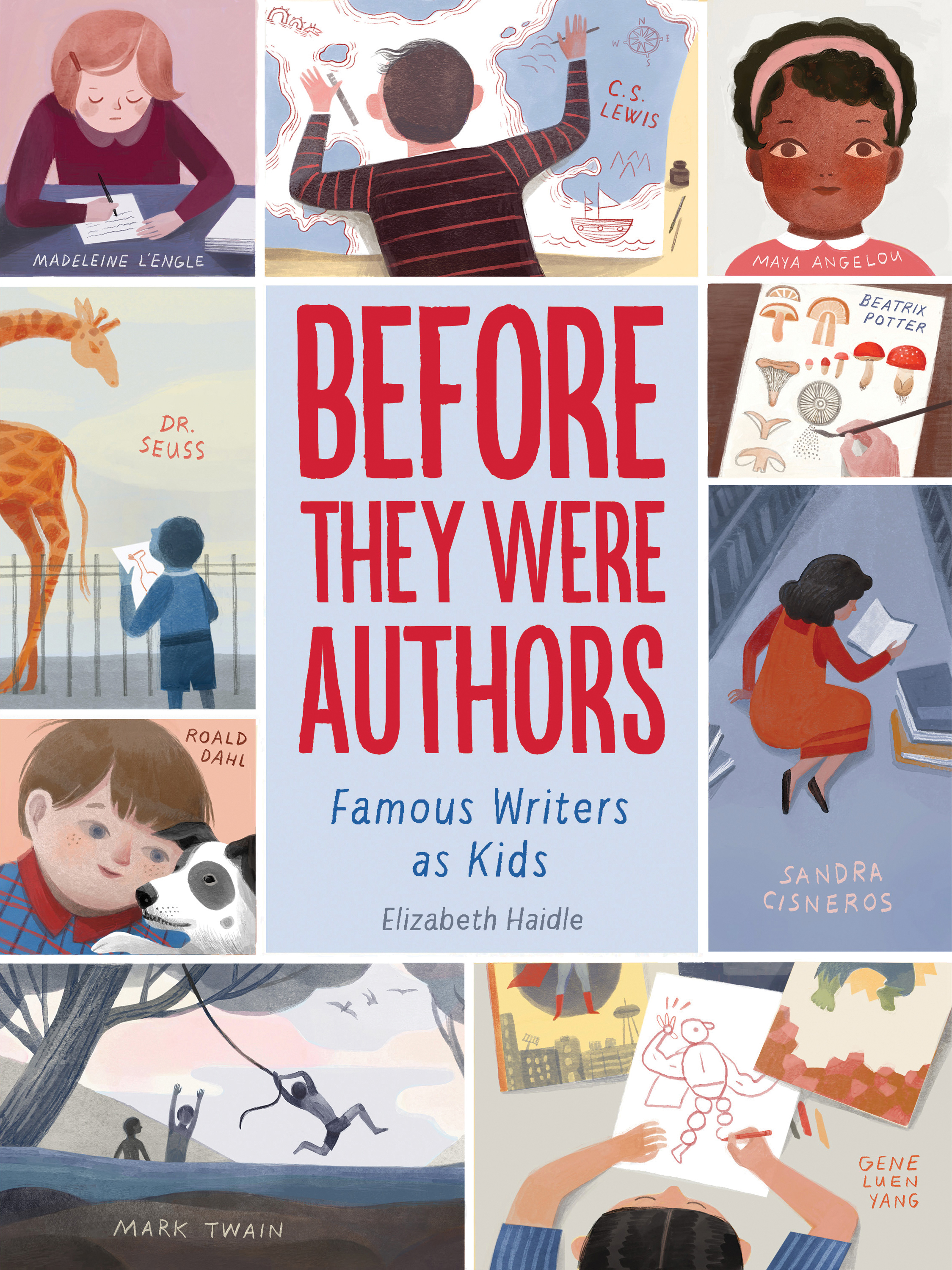 Before They Were Authors: Famous Writers as Kids-9781328801531