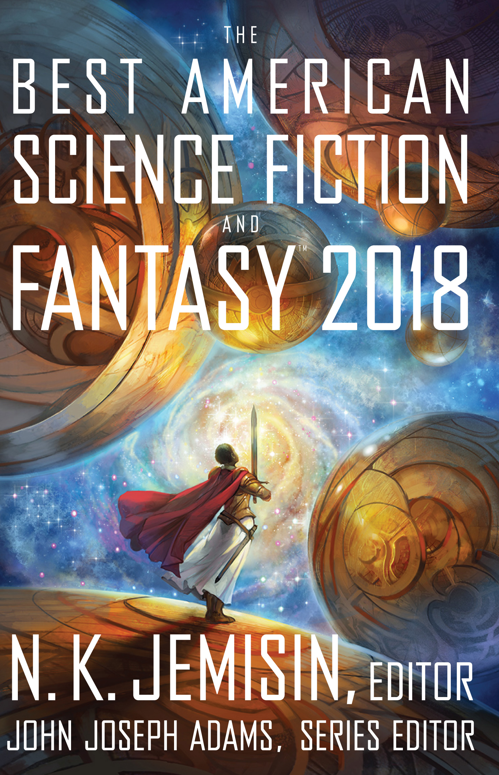 The Best American Science Fiction and Fantasy 2018-9781328834560