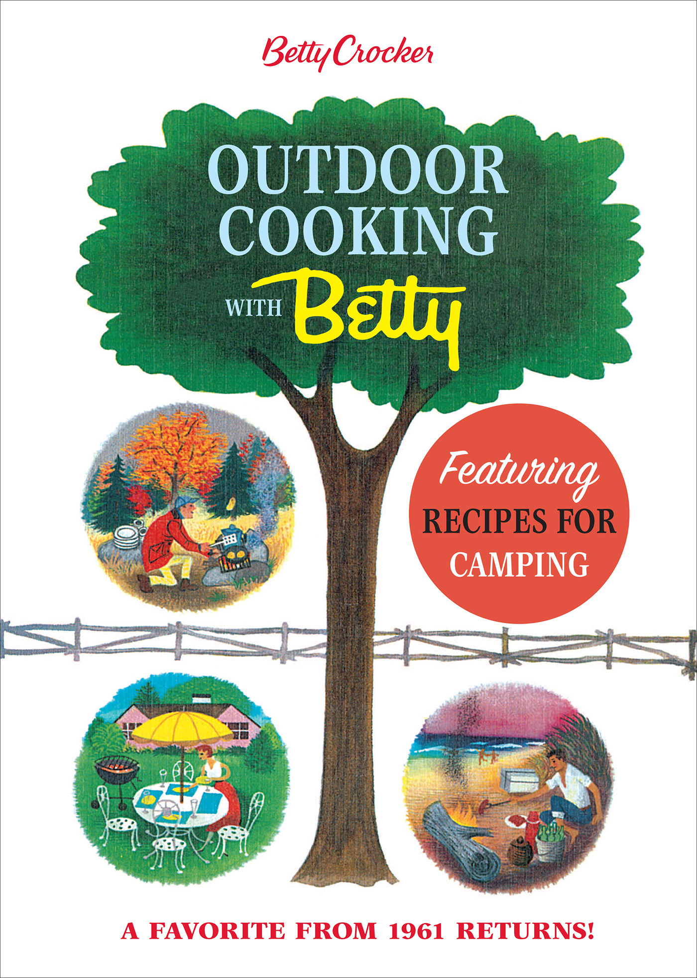 Betty Crocker Outdoor Cooking with Betty-9781328846051