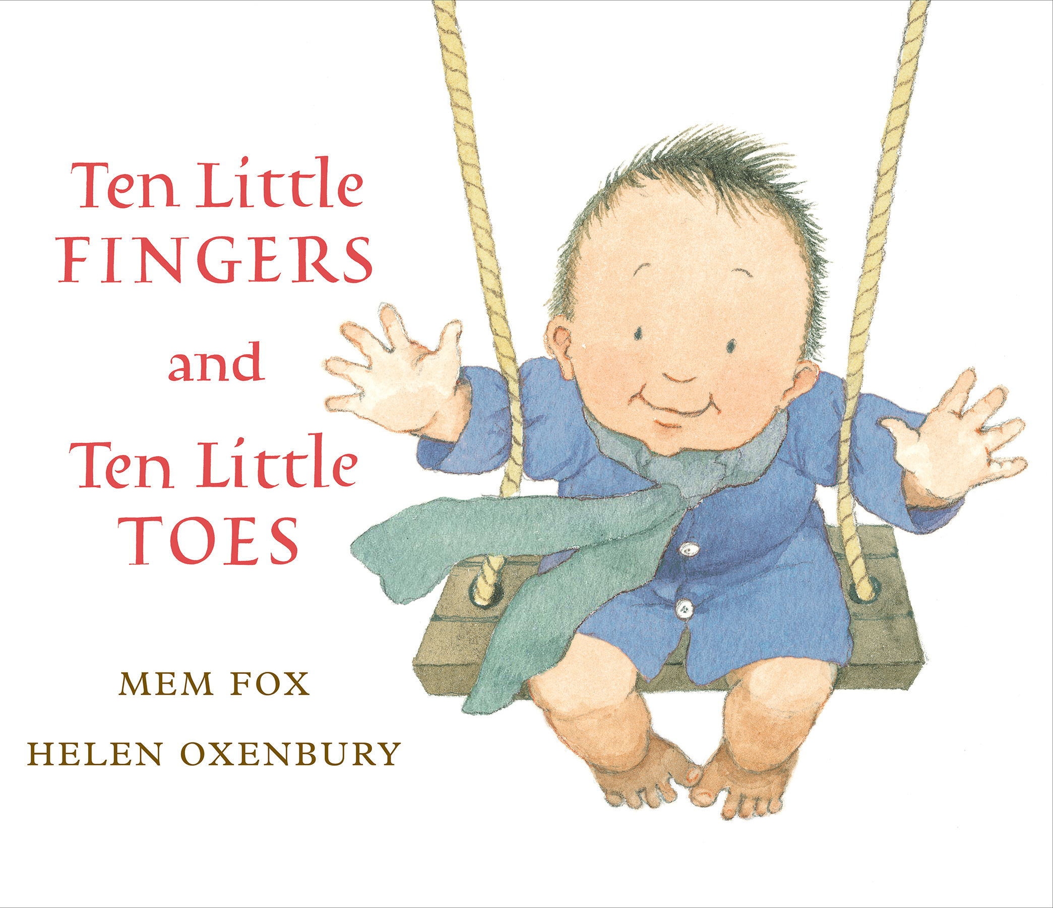 Ten Little Fingers and Ten Little Toes-9781328852250