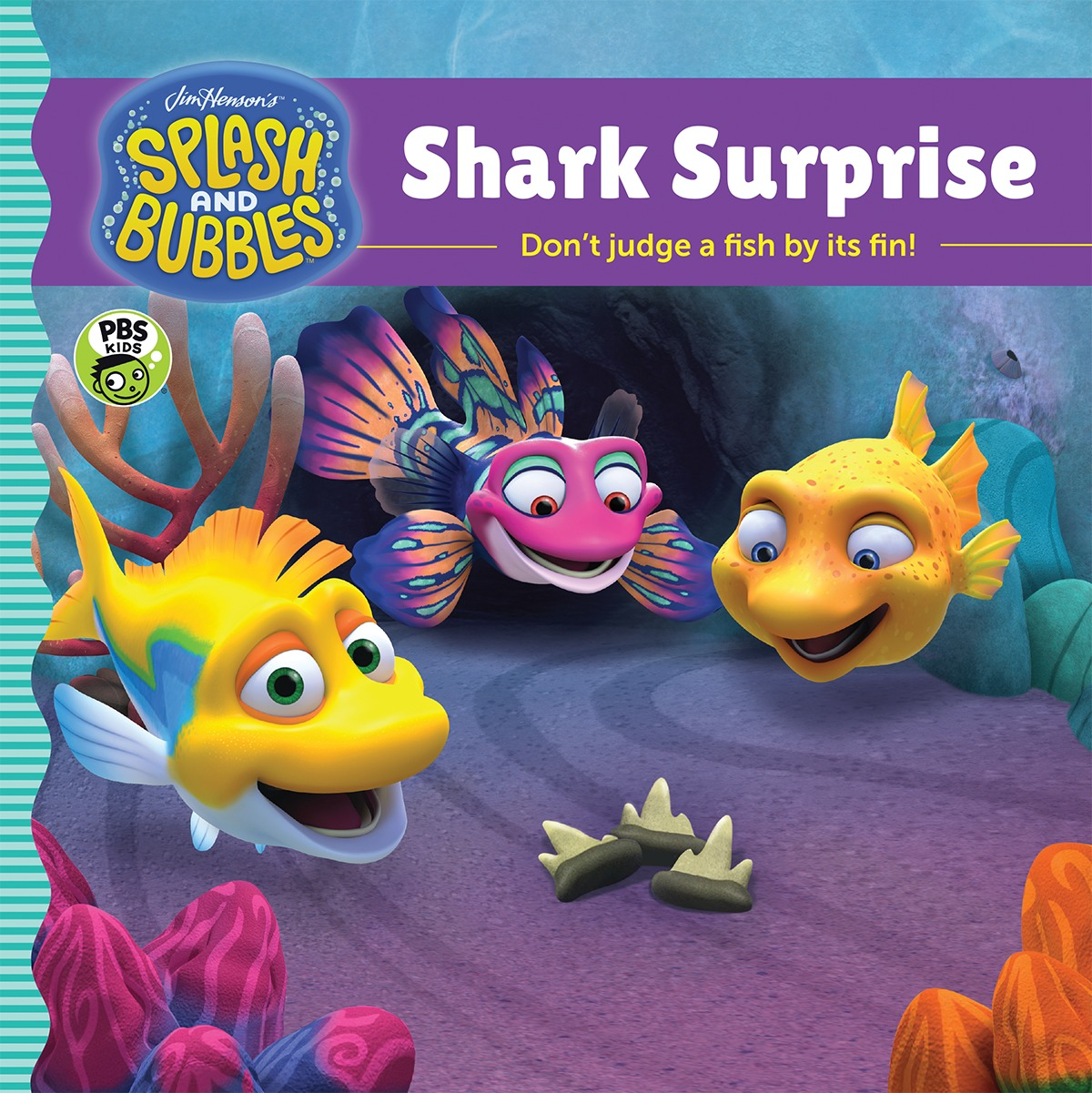 Splash and Bubbles: Shark Surprise-9781328852755