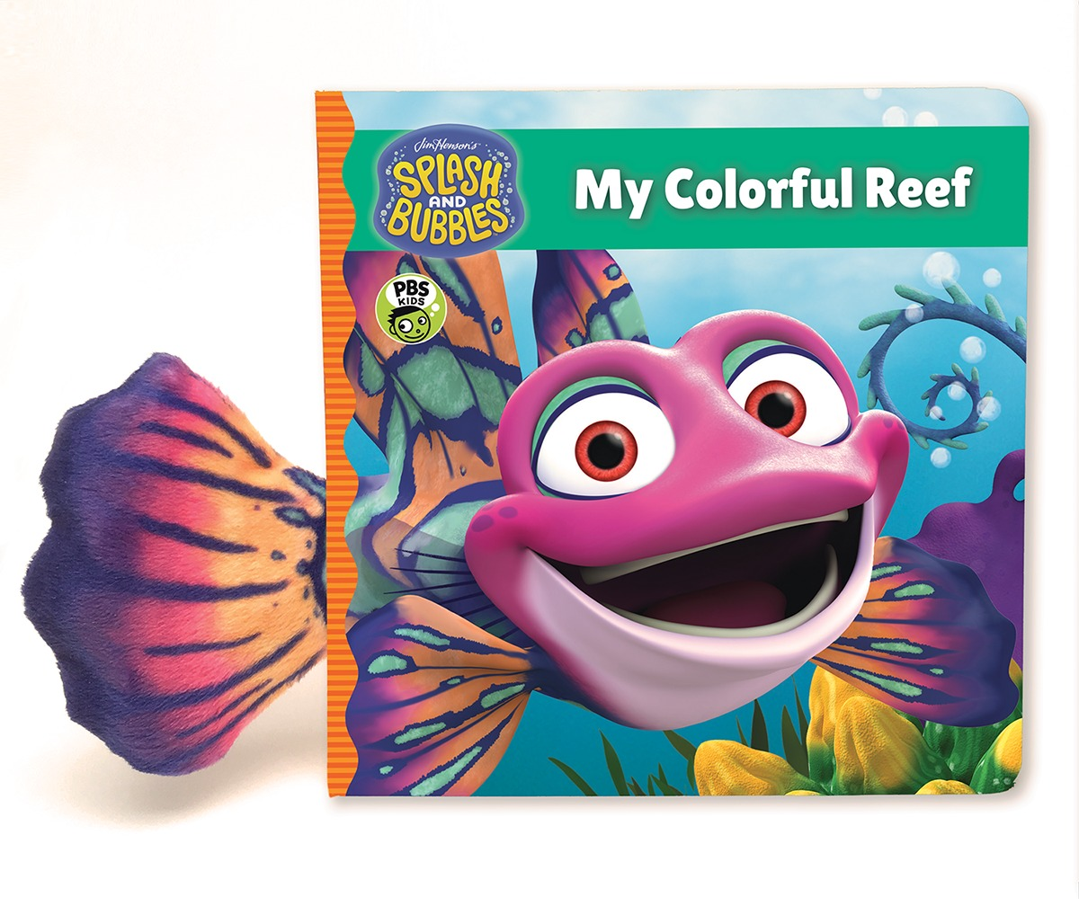 Splash and Bubbles: My Colorful Reef (board book)-9781328852762