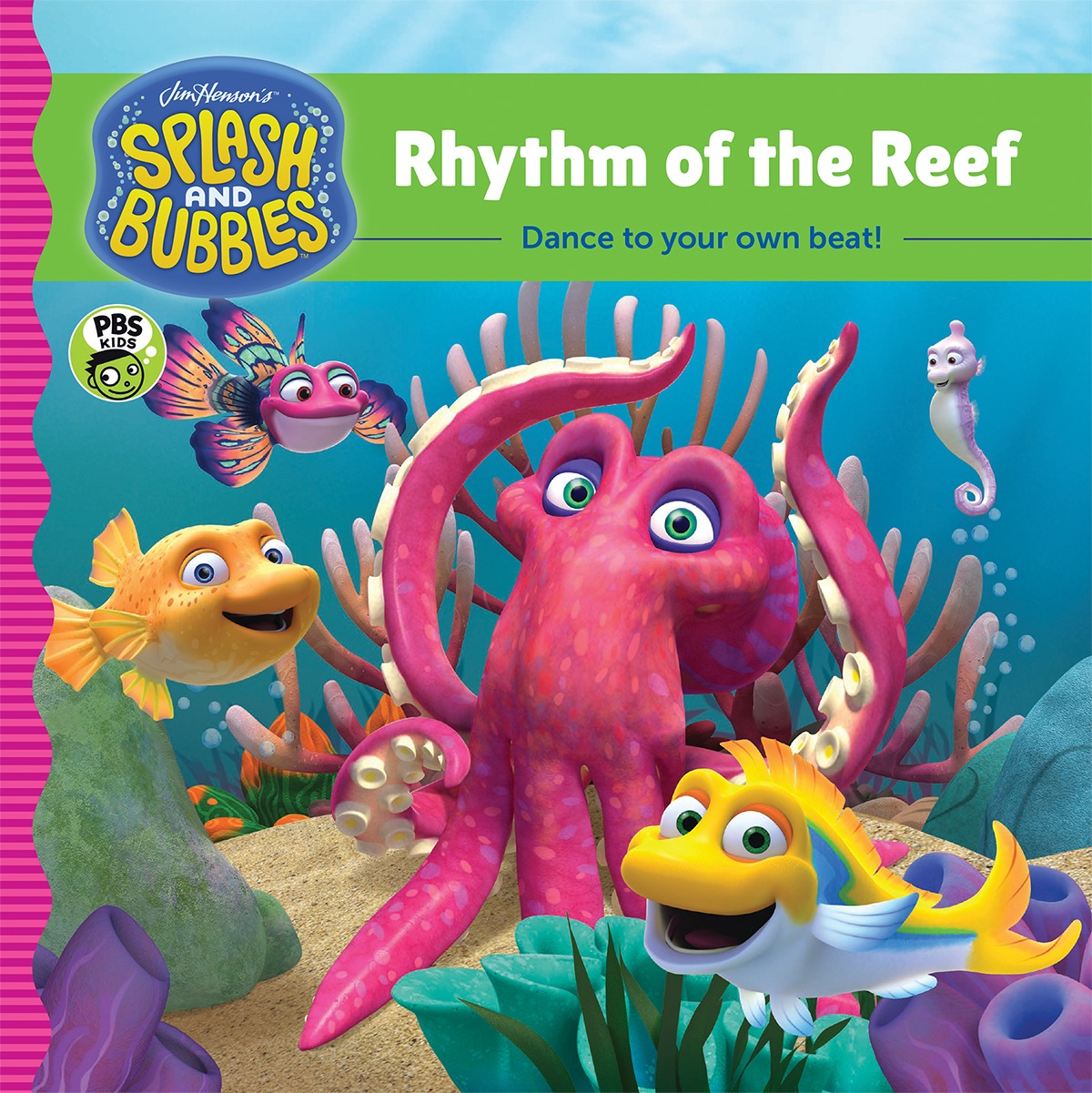 Splash and Bubbles: Rhythm of the Reef-9781328852779