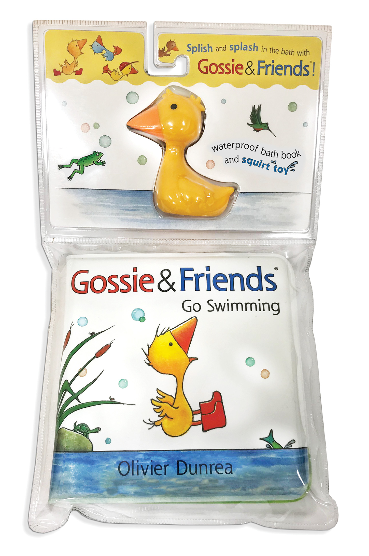Gossie & Friends Go Swimming Bath Book with Toy-9781328857118