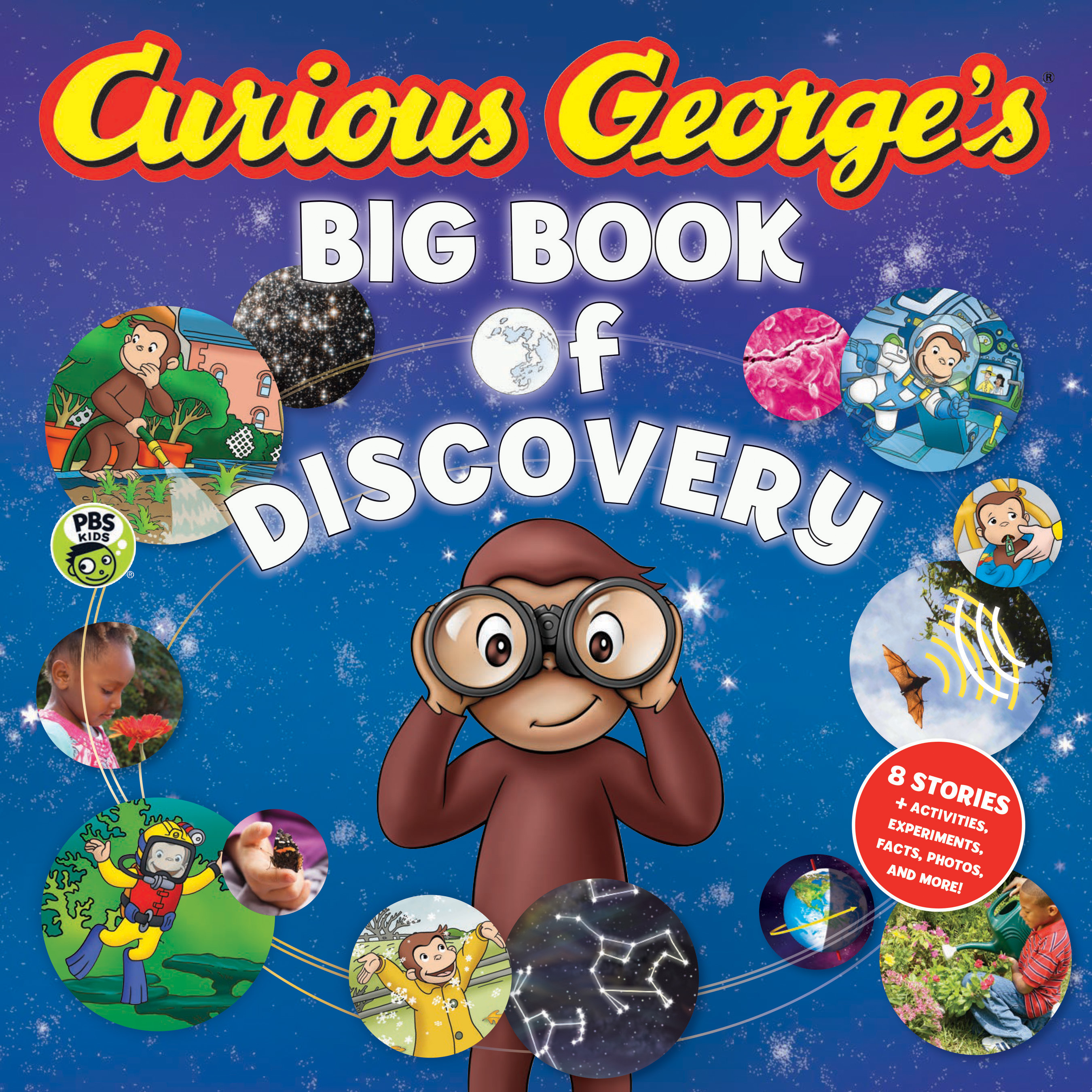 Curious George's Big Book of Discovery-9781328857125