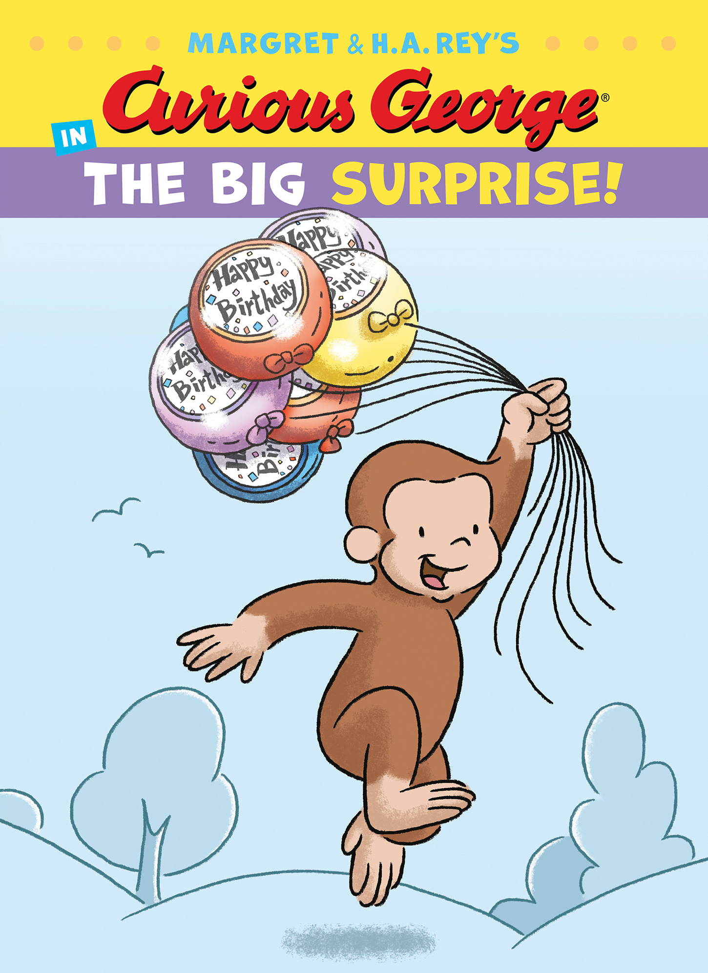 Curious George in the Big Surprise-9781328874436