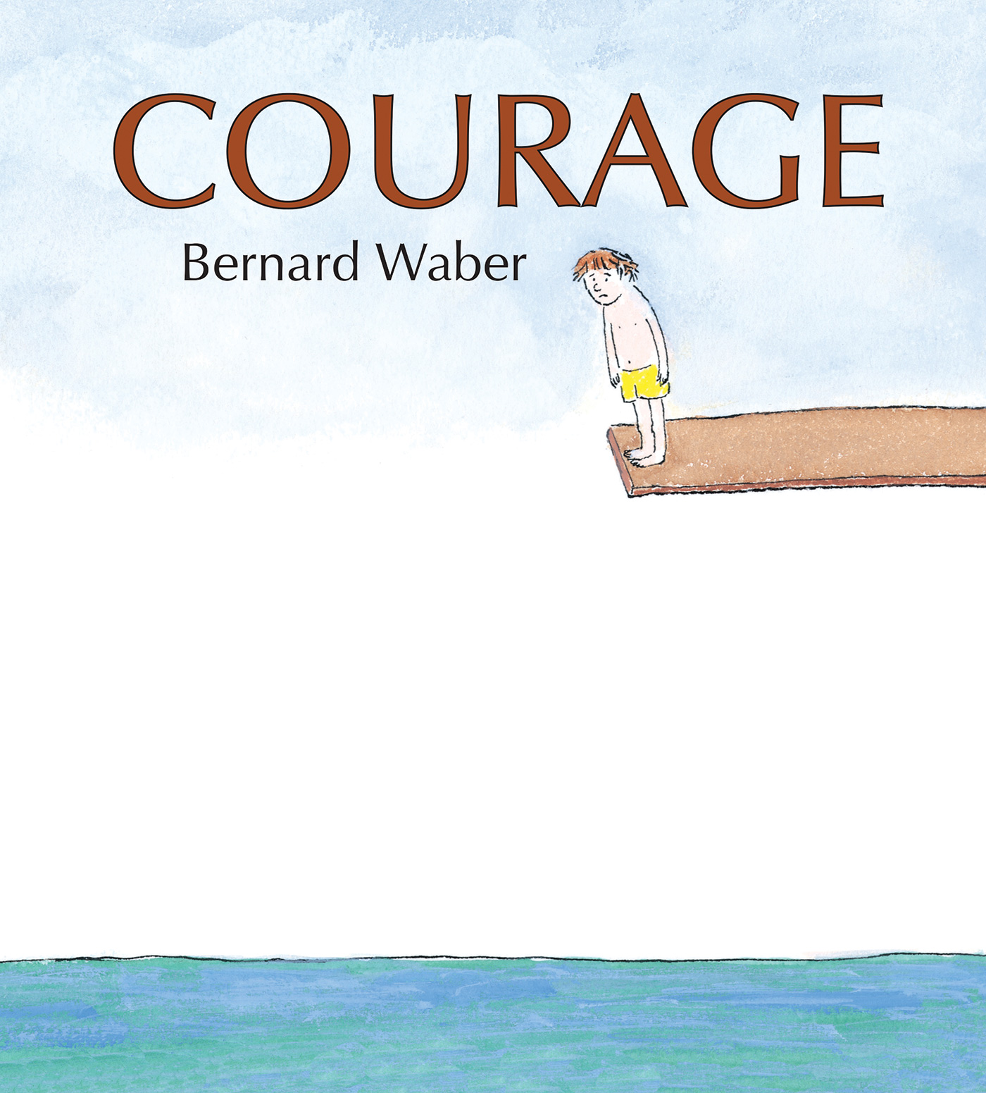 Courage (lap board book)-9781328886477