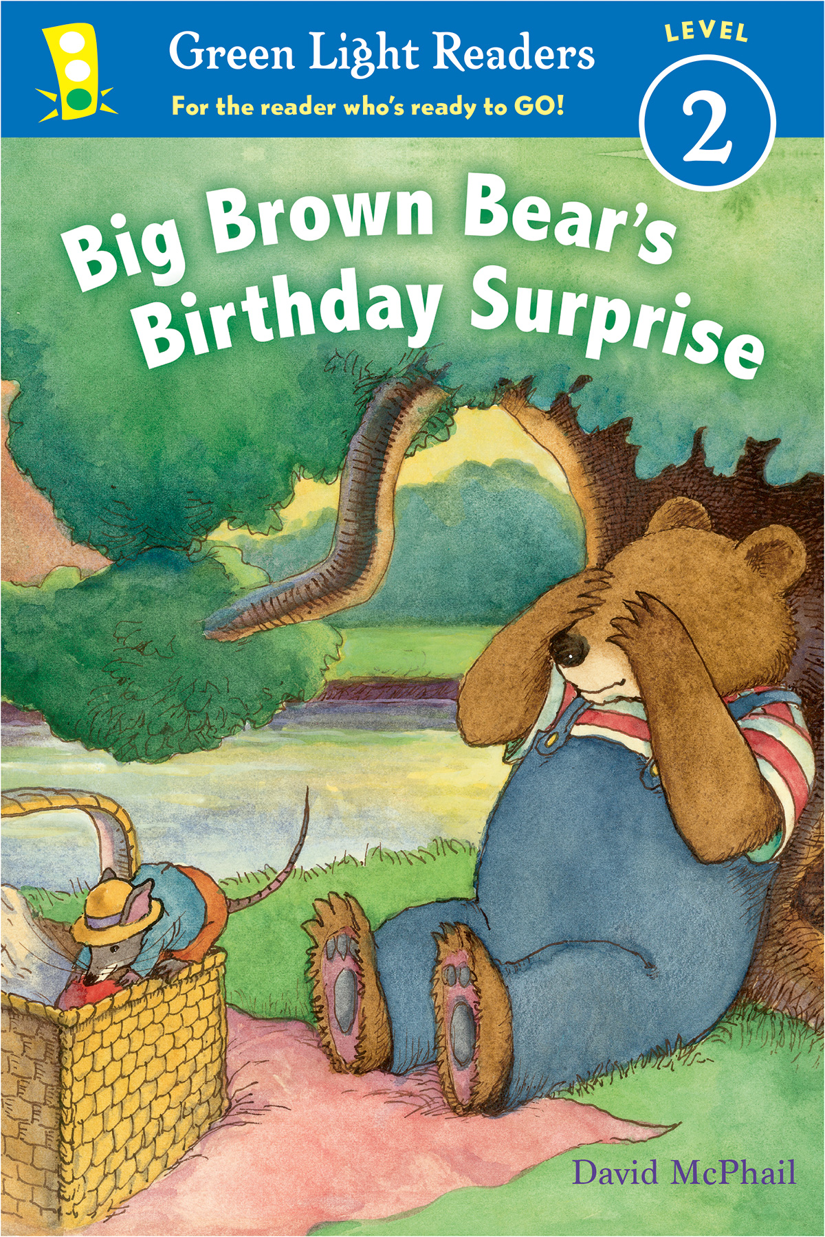 Big Brown Bear's Birthday Surprise (reader)-9781328895783