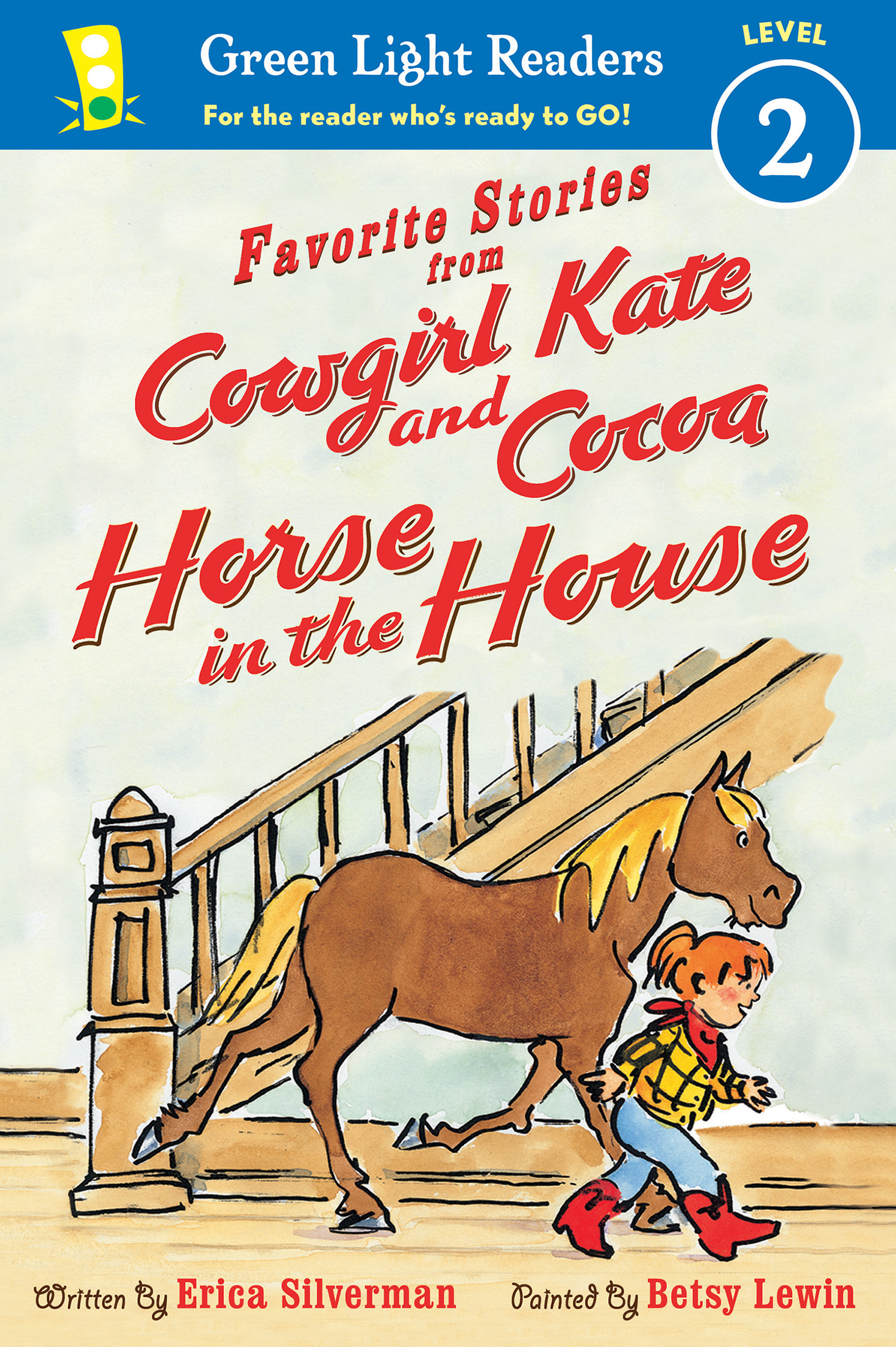 Favorite Stories from Cowgirl Kate and Cocoa: Horse in the House (reader)-9781328895806