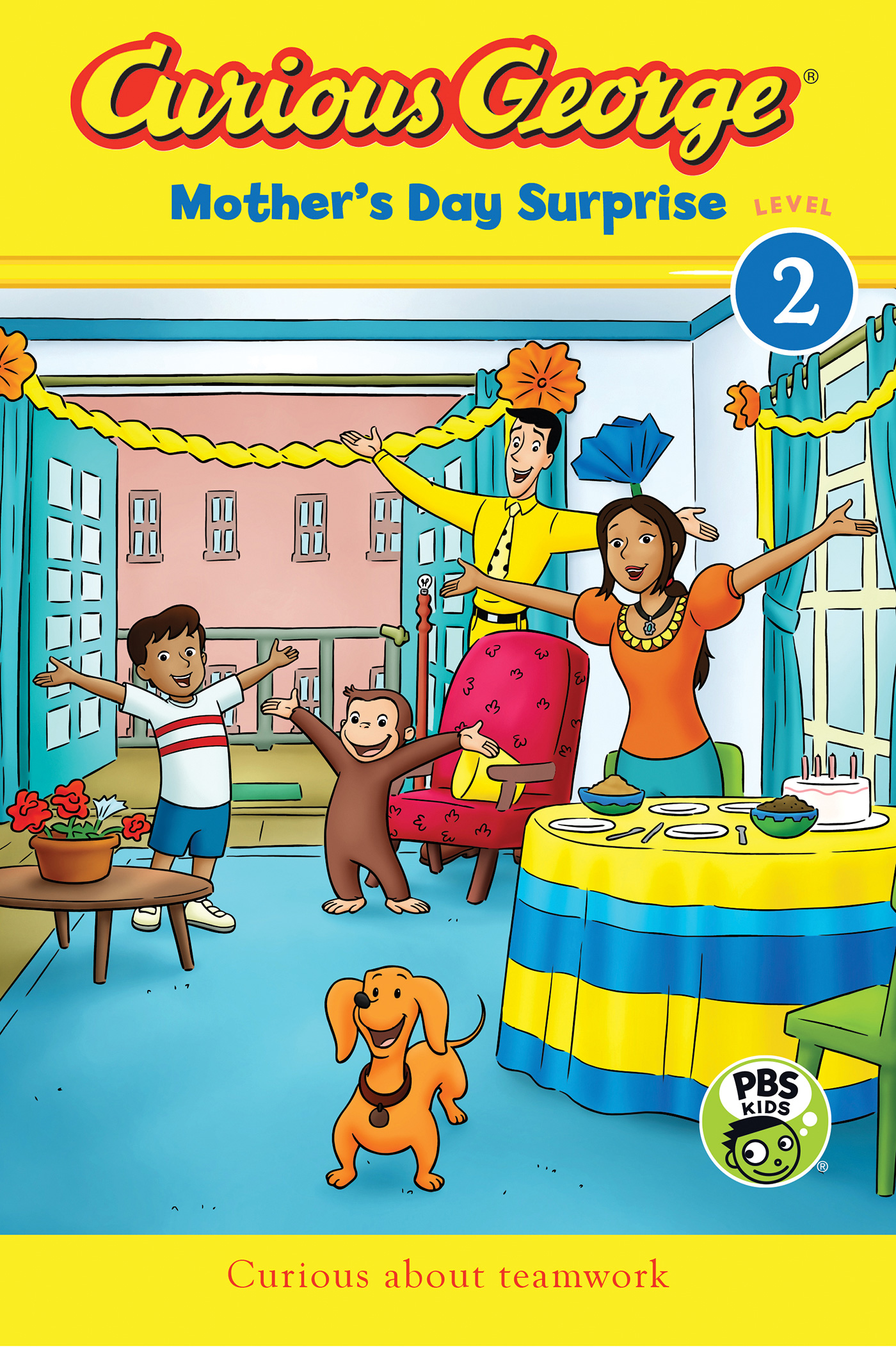 Curious George Mother's Day Surprise (CGTV Reader)-9781328897664