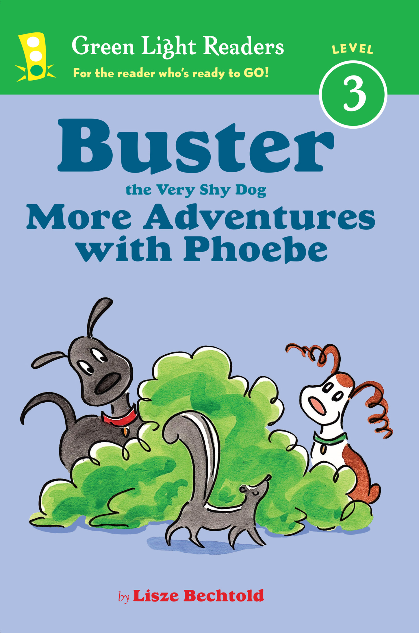 Buster the Very Shy Dog, More Adventures with Phoebe (reader)-9781328900906