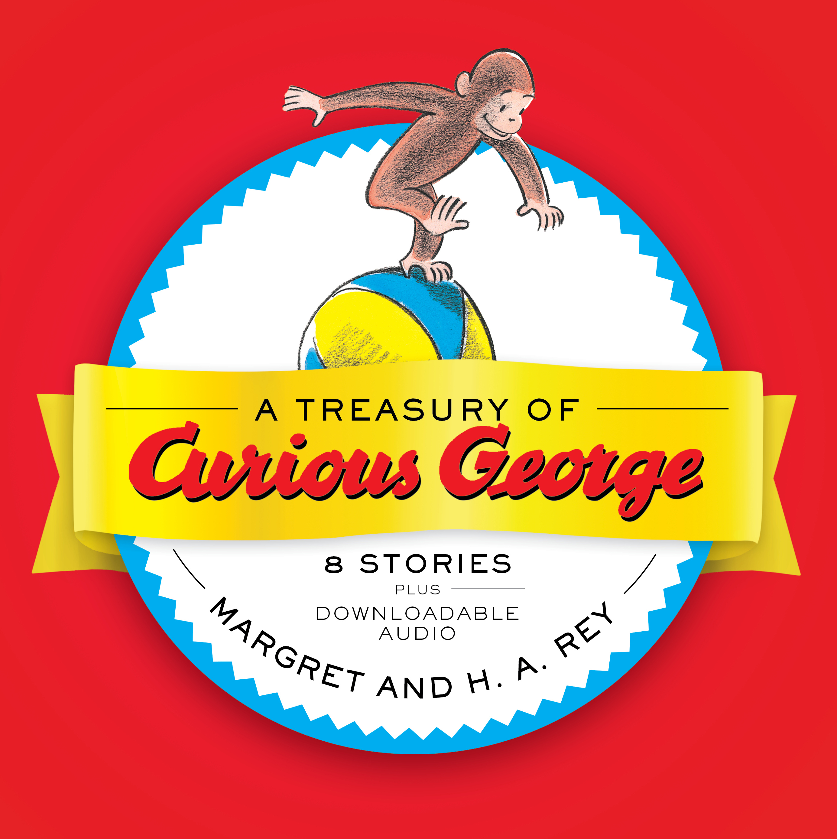 A Treasury of Curious George-9781328905147