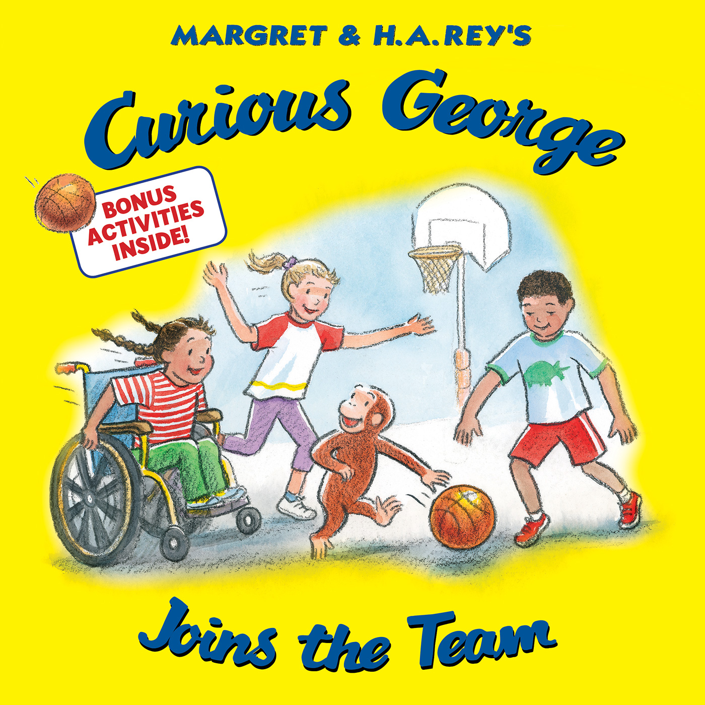 Curious George Joins the Team-9781328910479