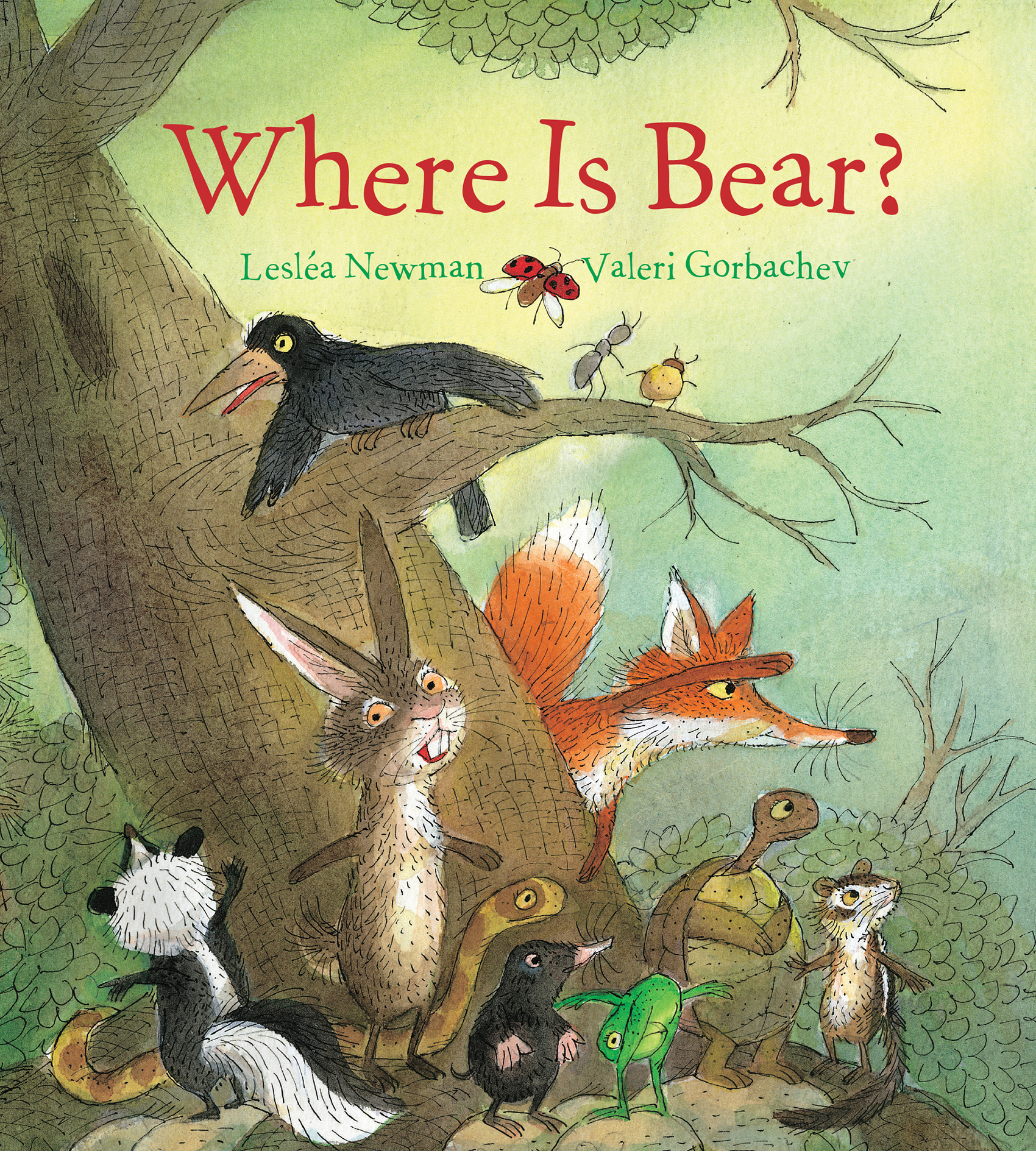 Where Is Bear? (padded board book)-9781328918918