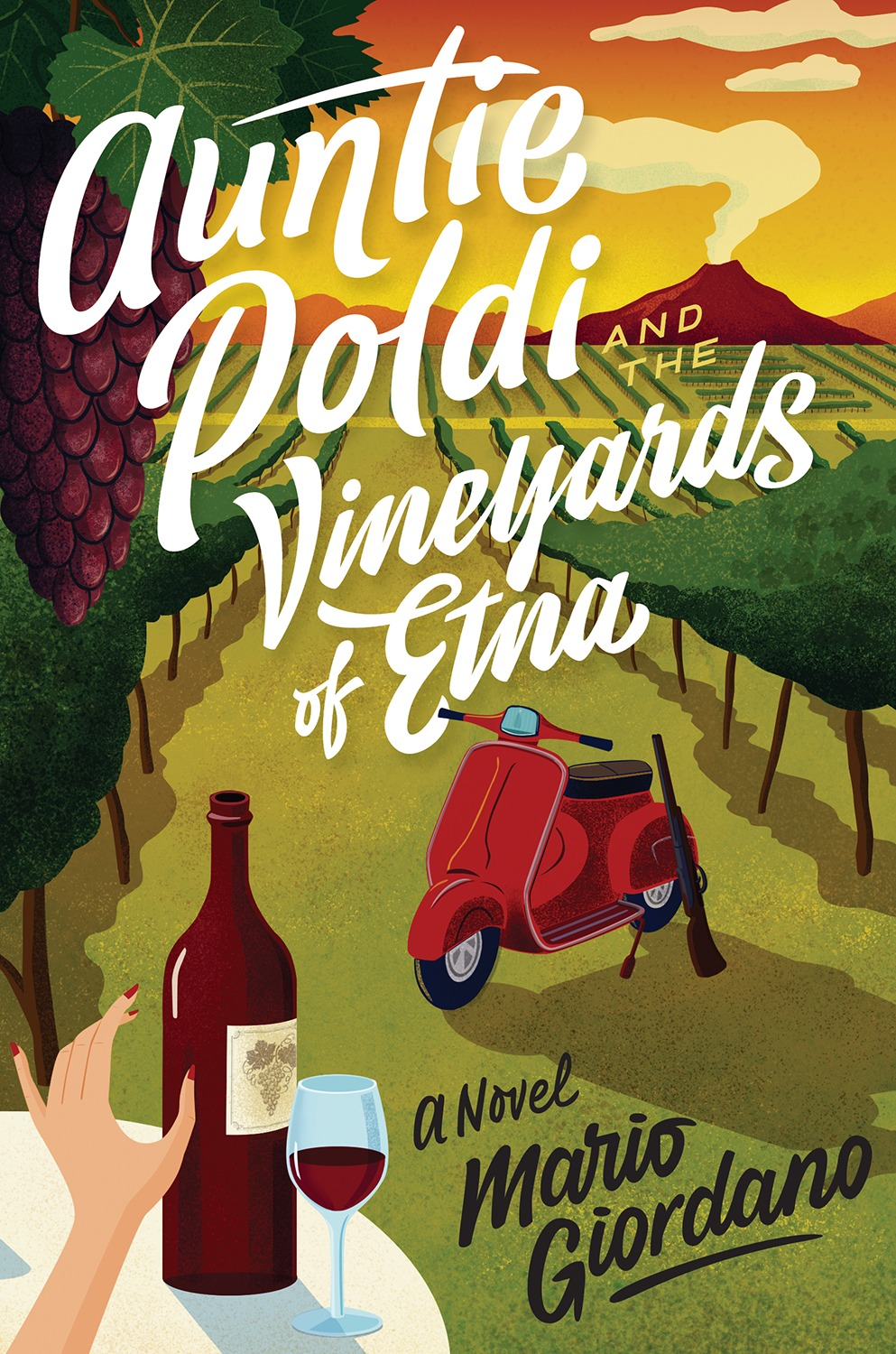 Auntie Poldi and the Vineyards of Etna-9781328919021