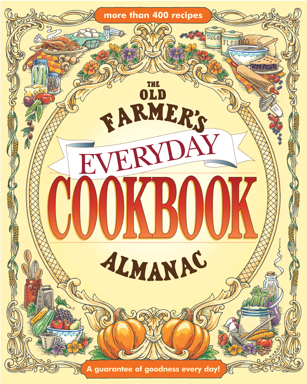 The Old Farmer's Almanac Everyday Cookbook-9781571984630