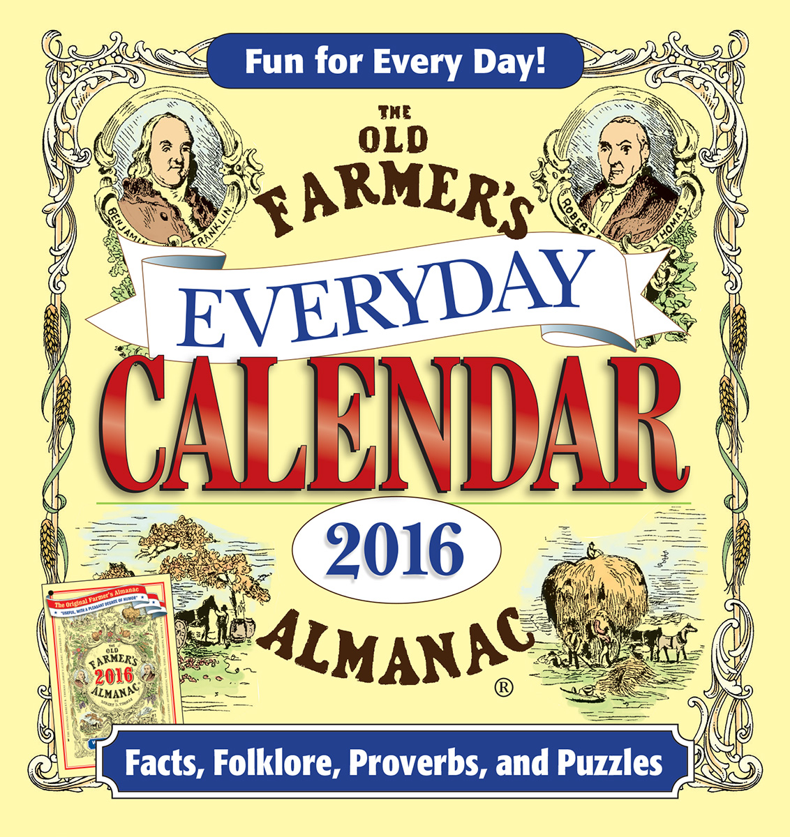 The Old Farmer's Almanac 2016 Everyday Calendar-9781571986825