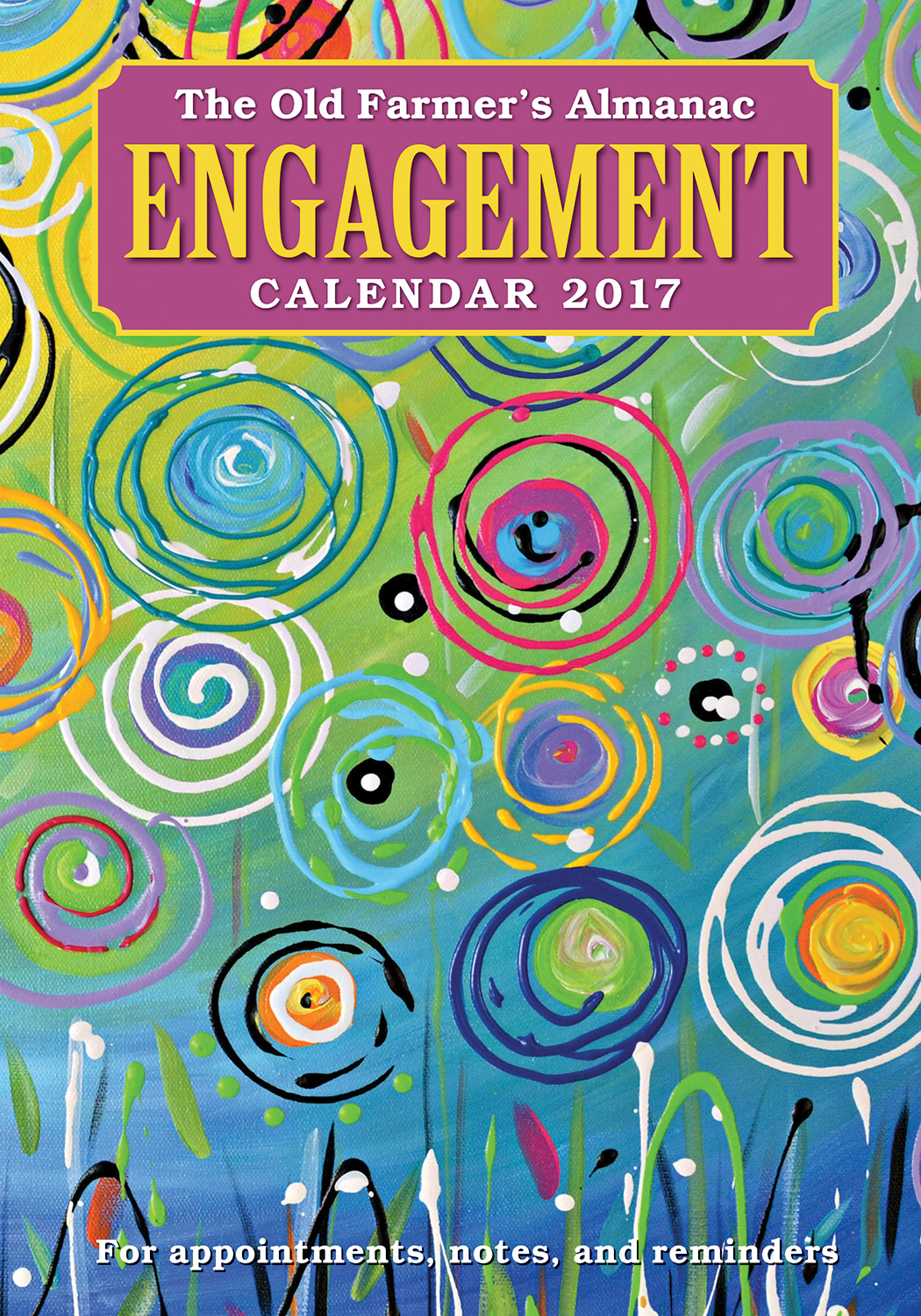 The Old Farmer's Almanac 2017 Engagement Calendar-9781571987143