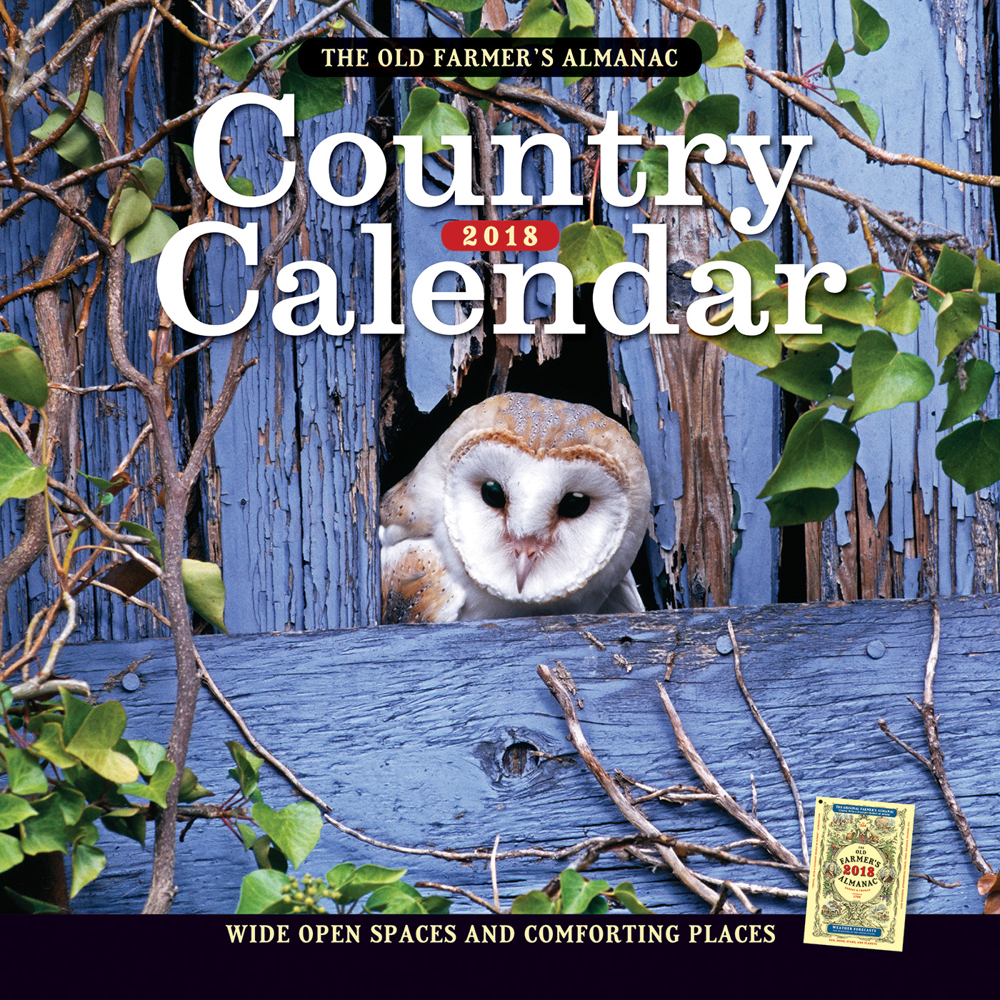The Old Farmer's Almanac 2018 Country Calendar-9781571987488