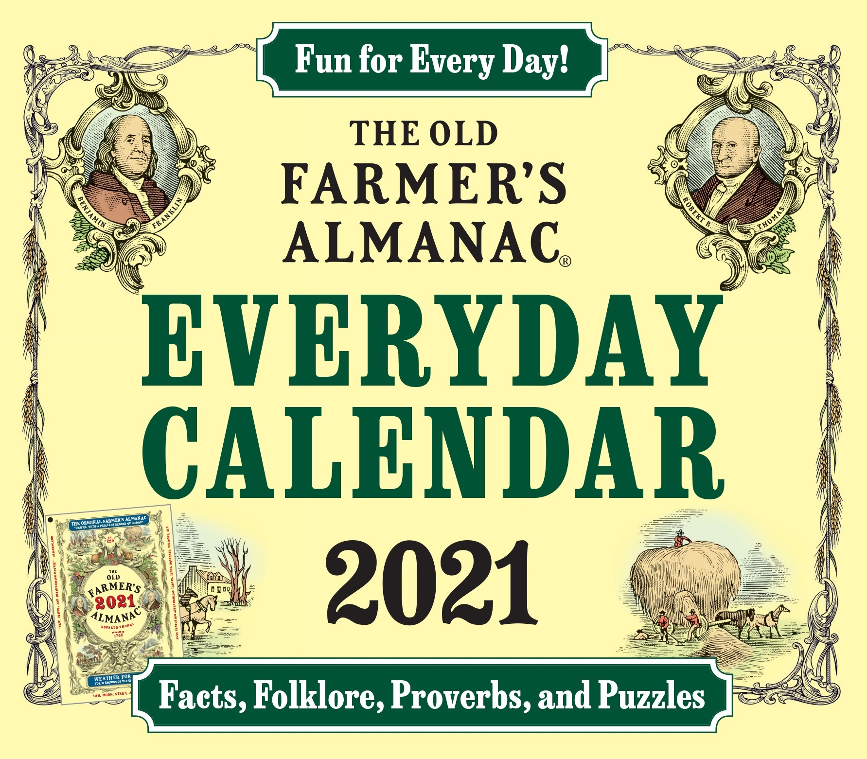 The 2021 Old Farmer's Almanac Everday Calendar-9781571988607