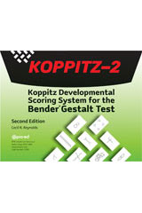 Koppitz-2 Record Forms, Ages 8-85+, Package of 25