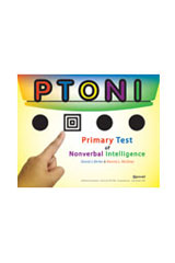 Primary Test of Nonverbal Intelligence (PTONI) Complete Kit