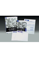 Gray Silent Reading Tests (GSRT)  Reading Book (Form A), Package of 10-1043747