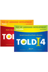 Test of Language Development (TOLD-4) Profile/Examiner Record Forms, Package of 25